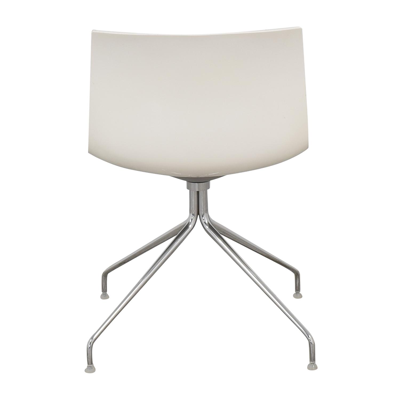 buy Arper Catifa 46 Trestle Swivel Chair Arper