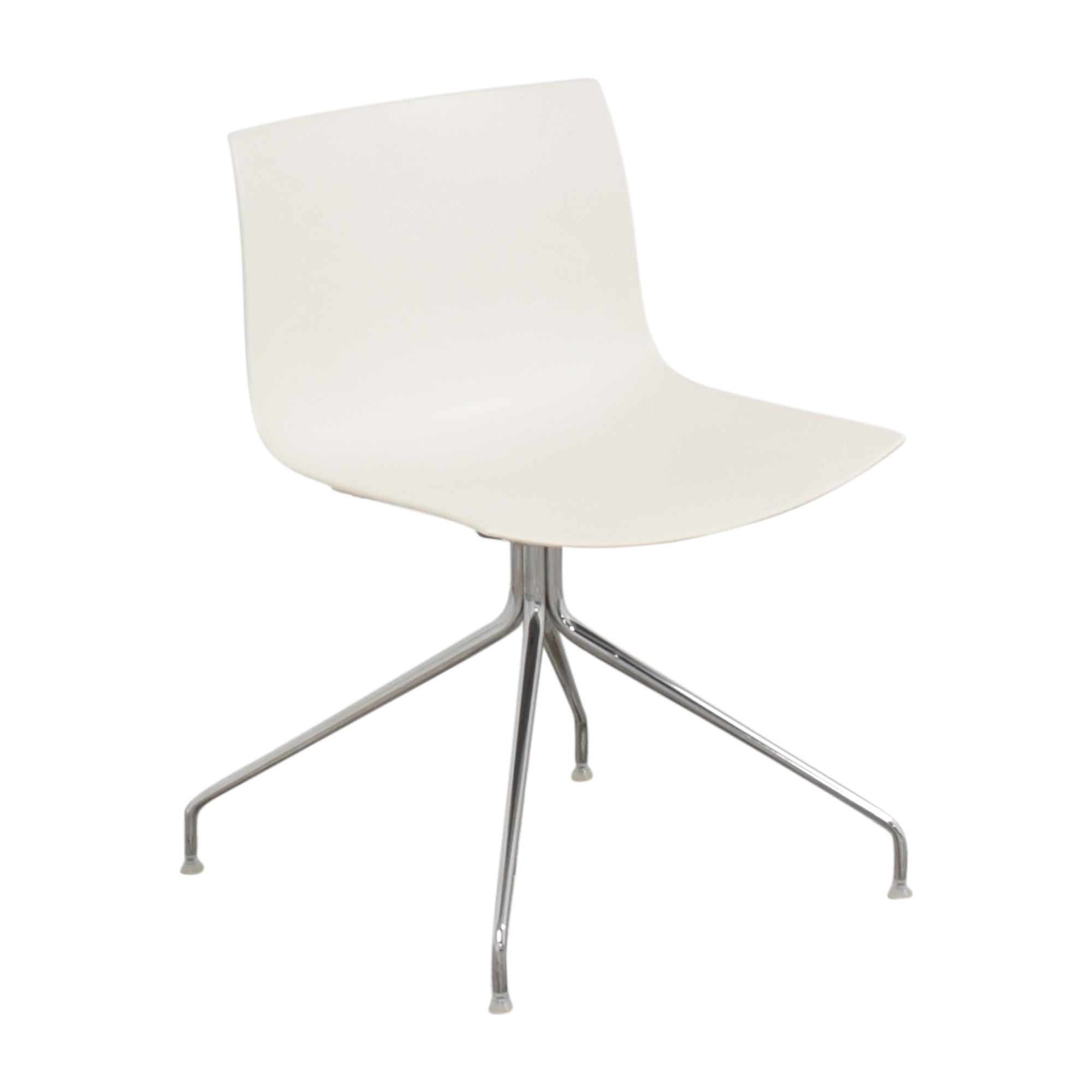 buy Arper Catifa 46 Trestle Swivel Chair Arper Chairs