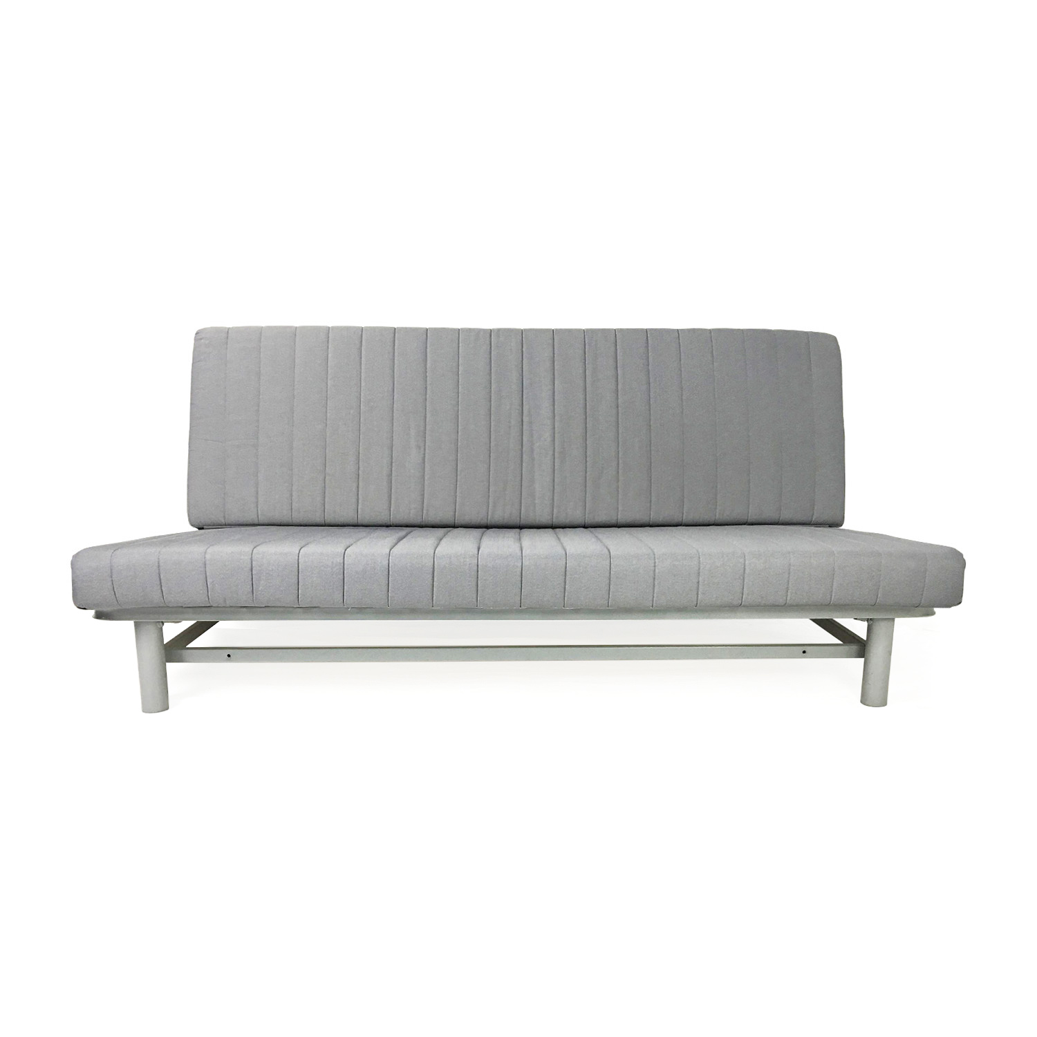 Ikea bed sofas backabro sofa bed with chaise longue ramna for Ikea gray sofa
