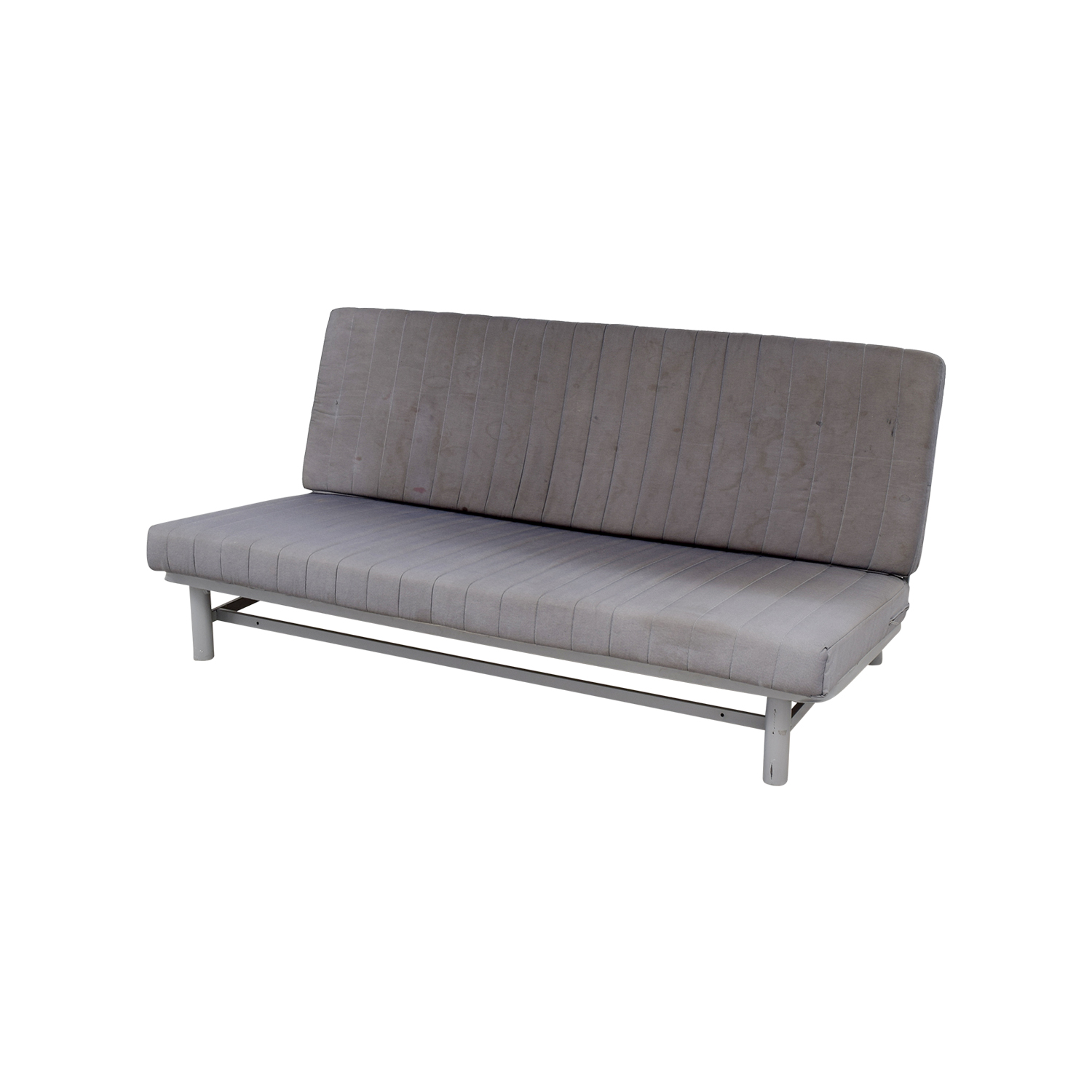 Ikea Futon Sofa Bed: IKEA IKEA Grey Sofa Bed / Sofas