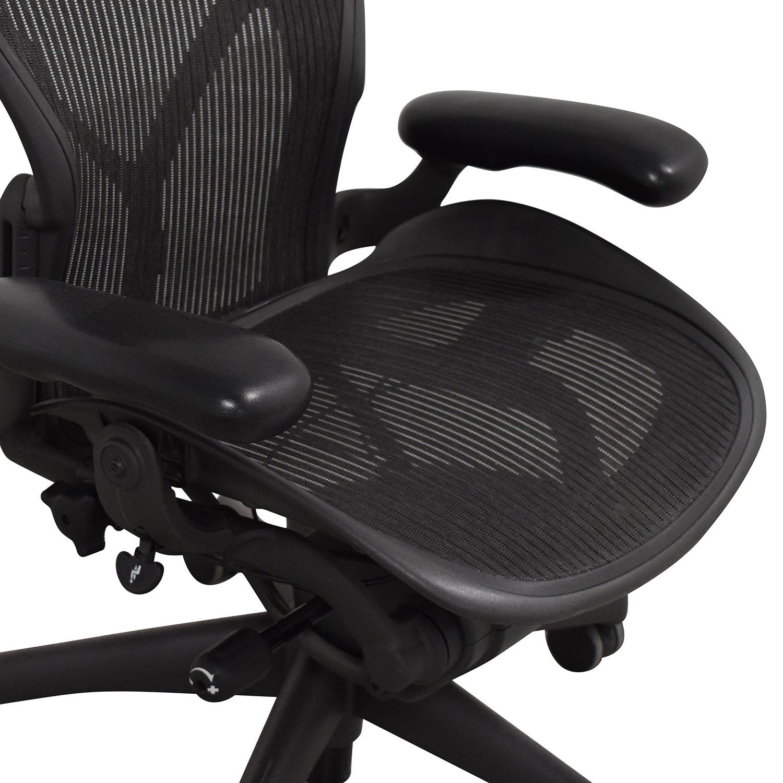 shop Herman Miller Size B Aeron Chair Herman Miller