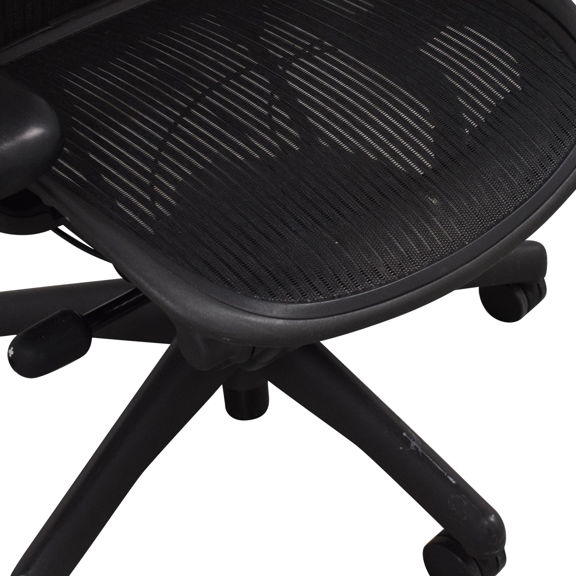 buy Herman Miller Aeron Office Chair Herman Miller Home Office Chairs