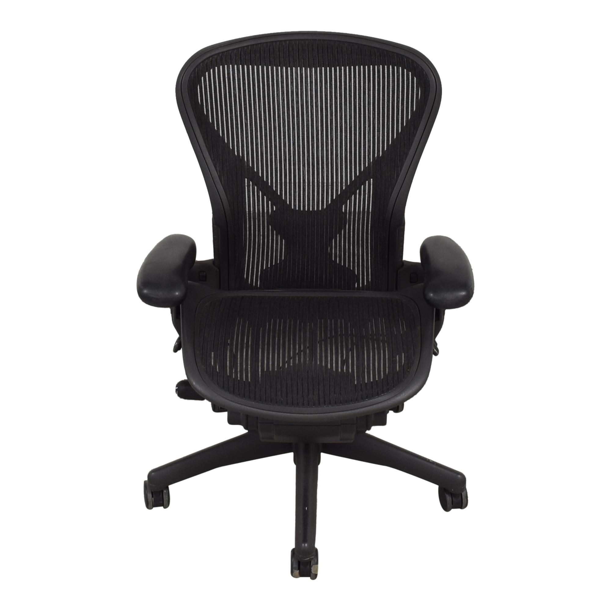Herman Miller Herman Miller Size B Aeron Chair nj