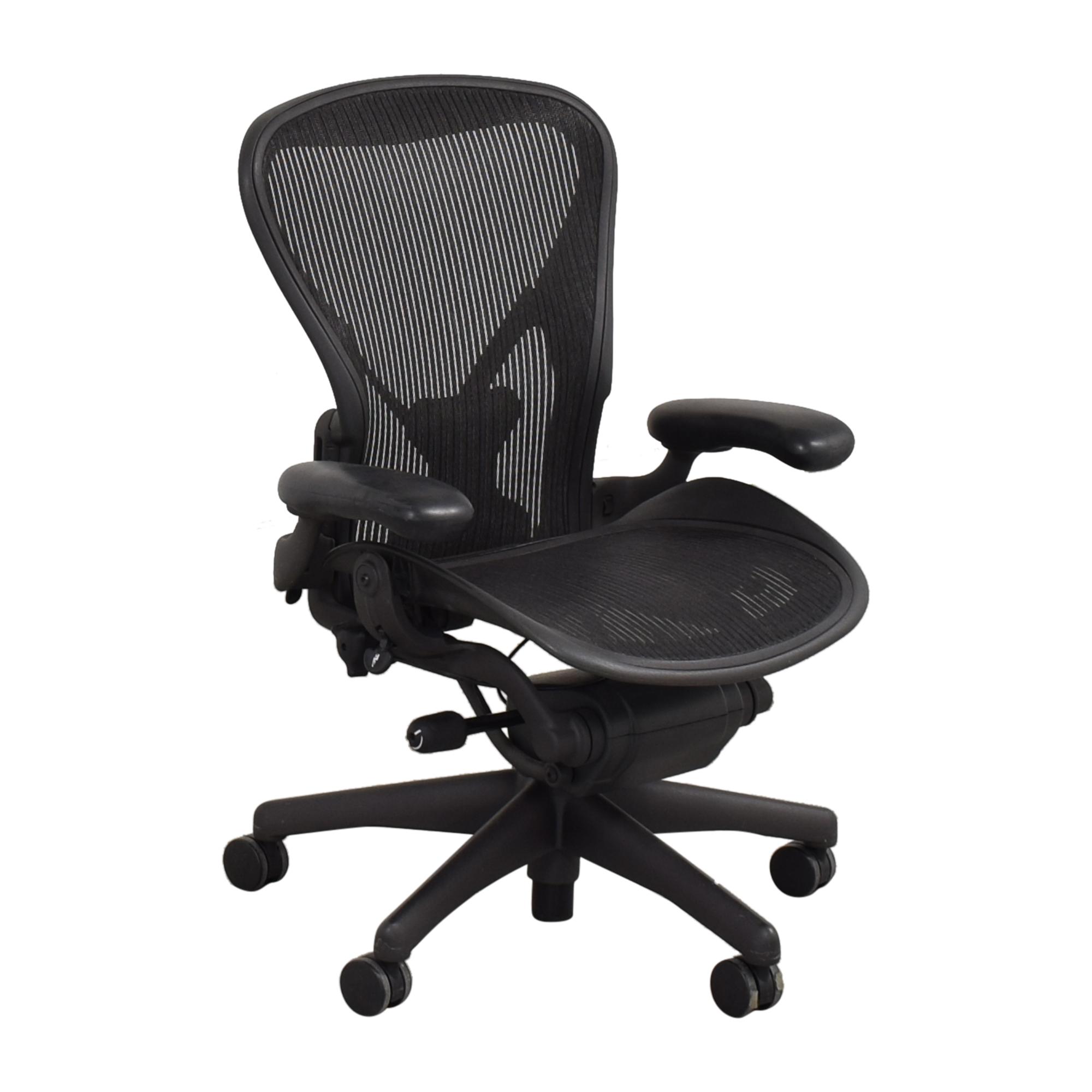 shop Herman Miller Size B Aeron Chair Herman Miller Chairs