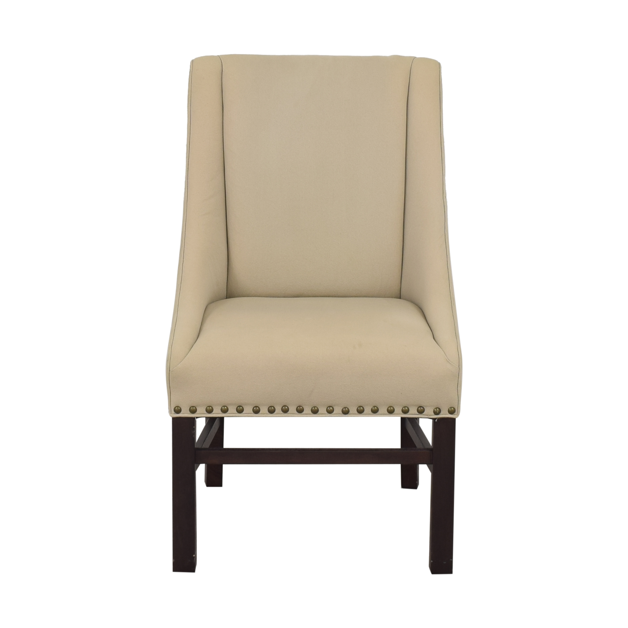 Restoration Hardware Fabric Armchair Restoration Hardware