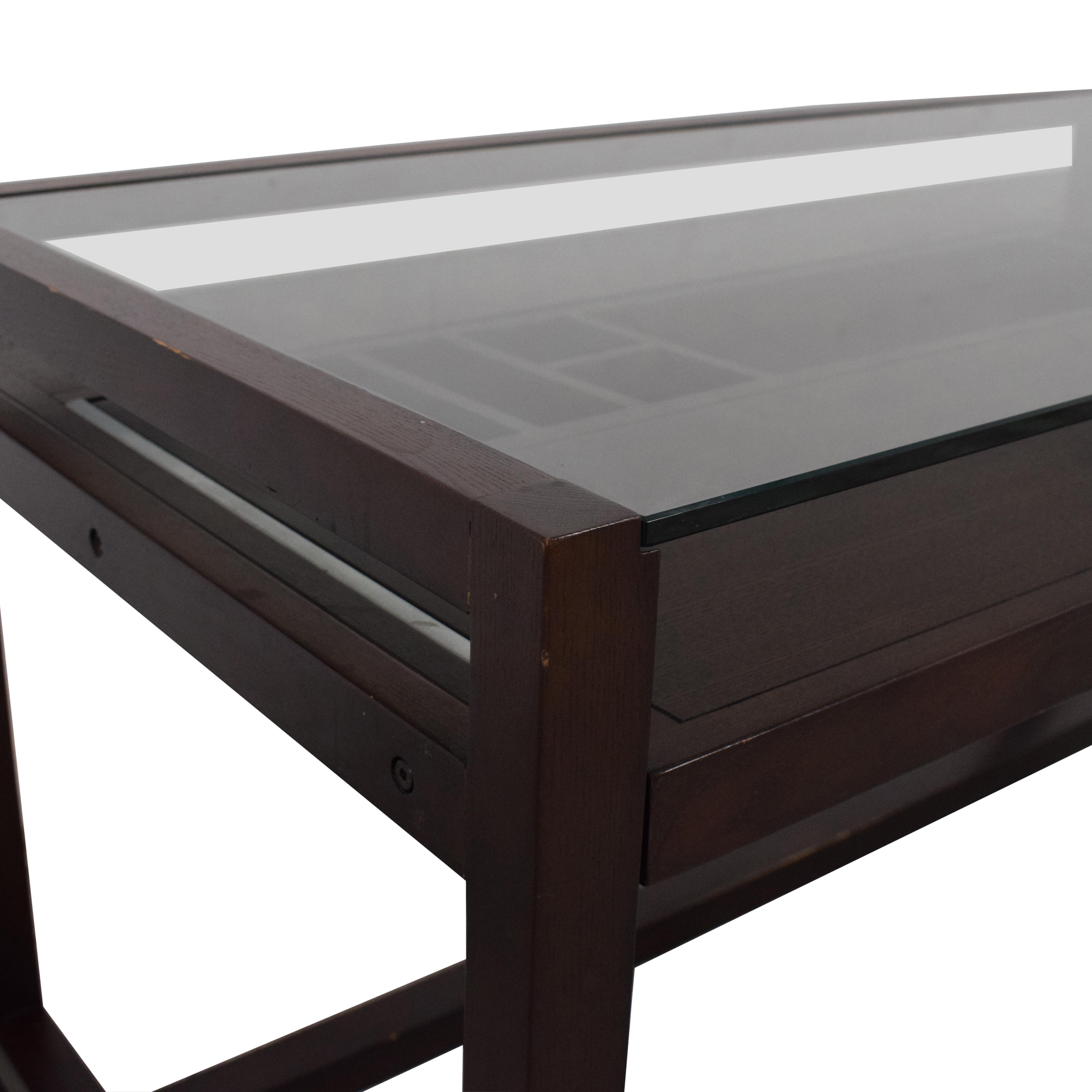 Crate & Barrel Crate & Barrel Drake Table dimensions