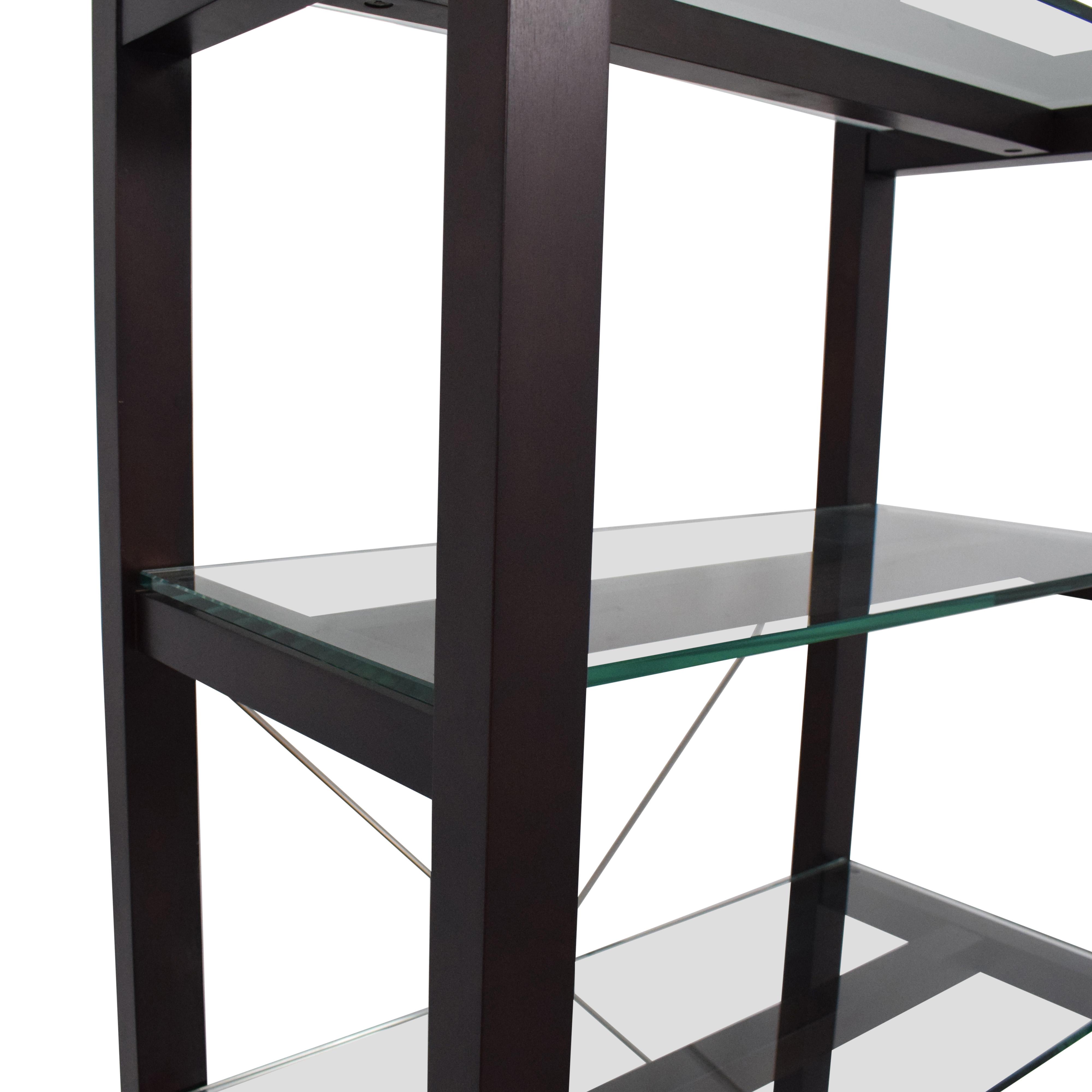 Crate & Barrel Drake Bookcase / Storage
