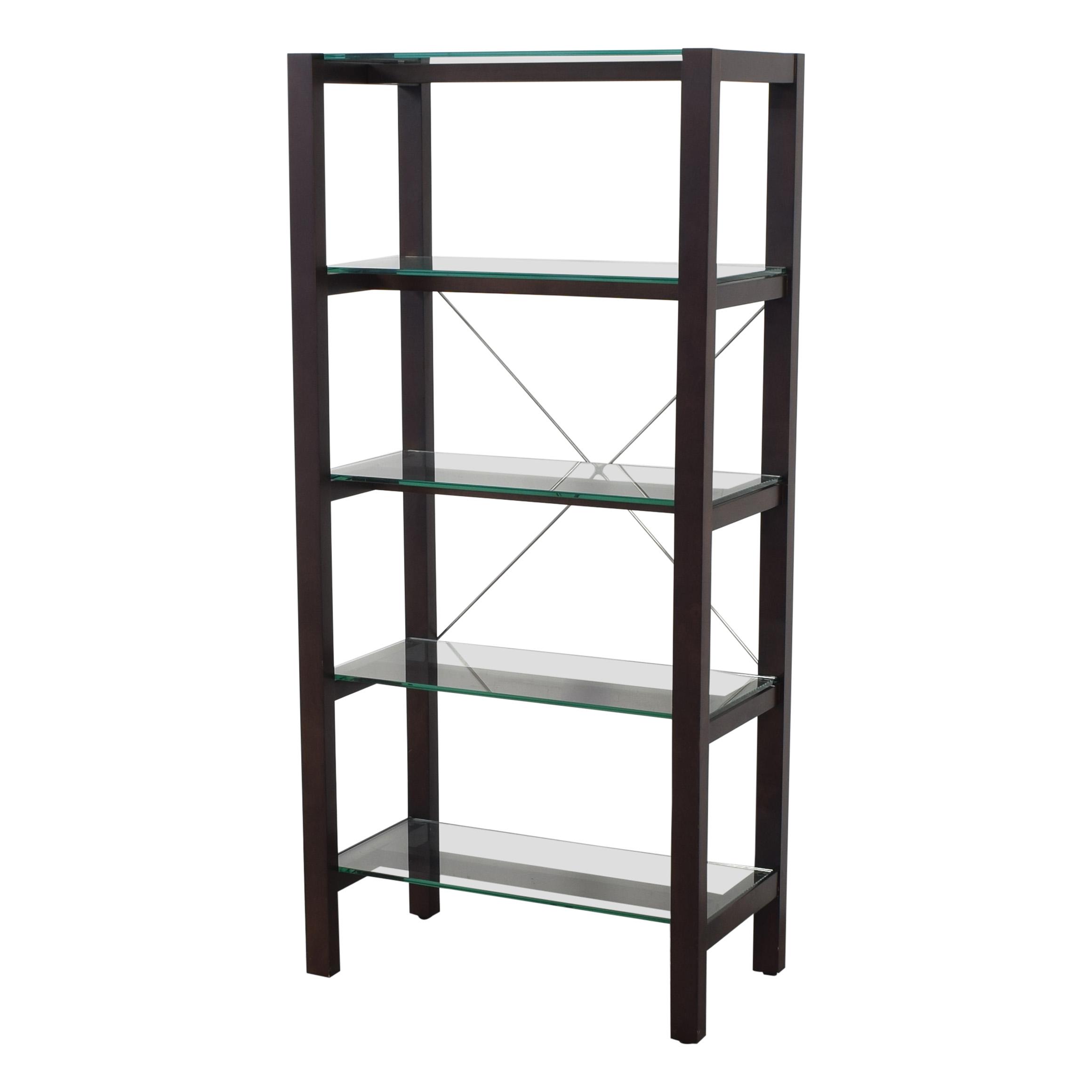 shop Crate & Barrel Drake Bookcase Crate & Barrel