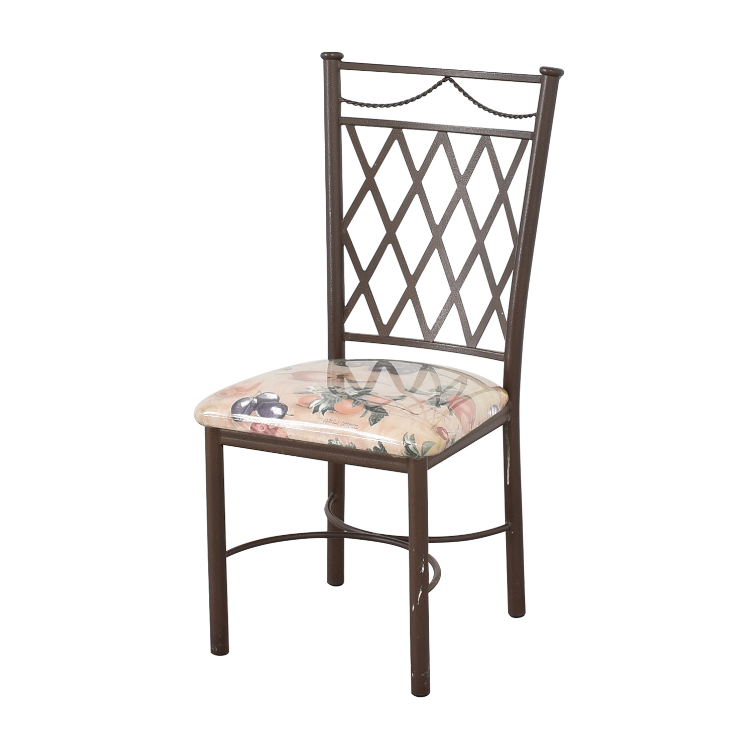 Trellis Back Dinette Chairs / Dining Chairs