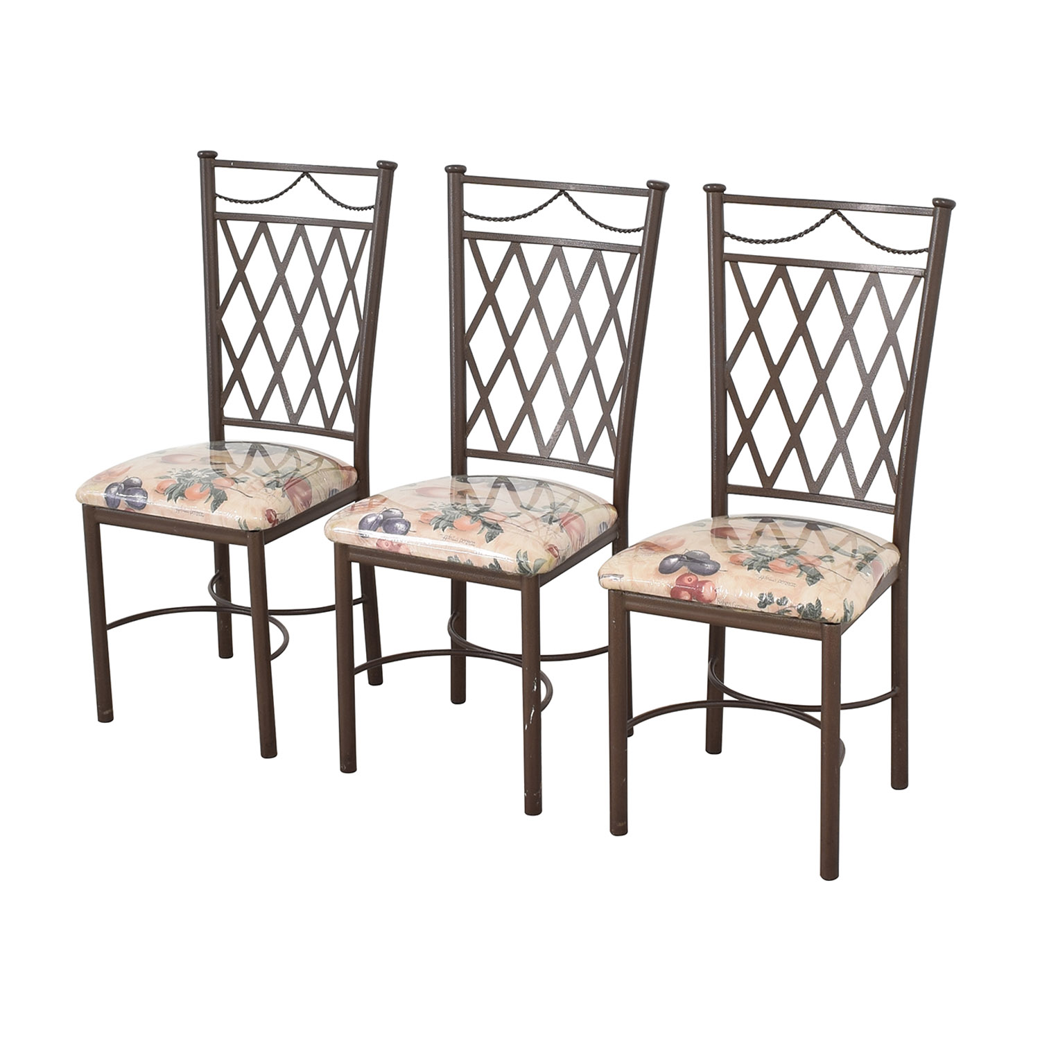 Trellis Back Dinette Chairs ma