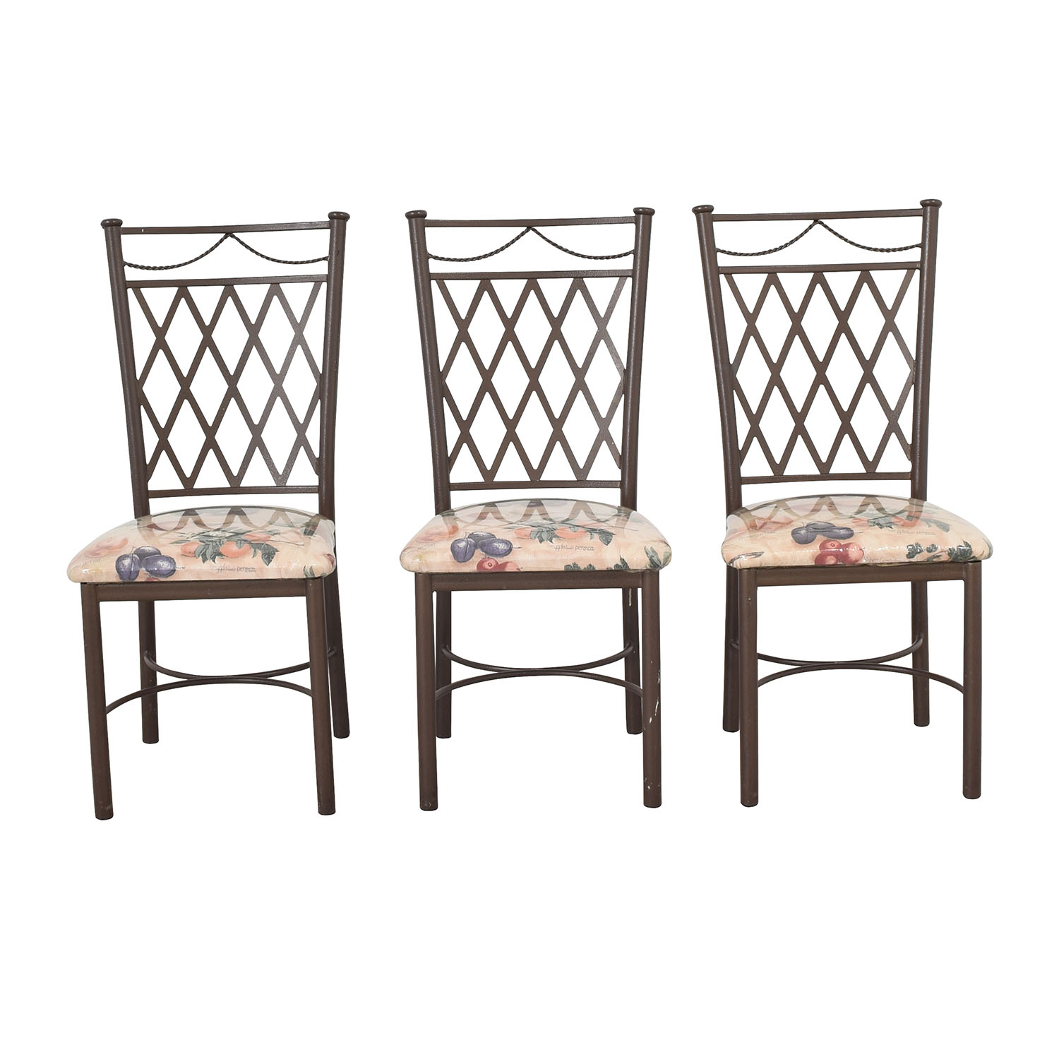 Trellis Back Dinette Chairs for sale