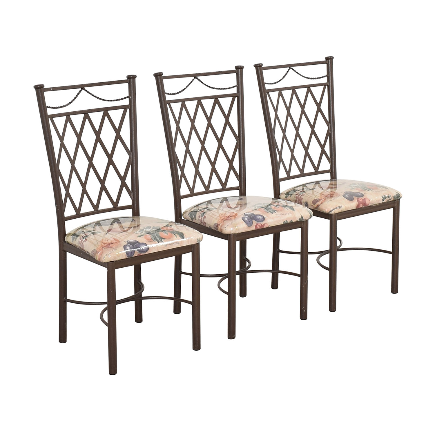 Trellis Back Dinette Chairs ct