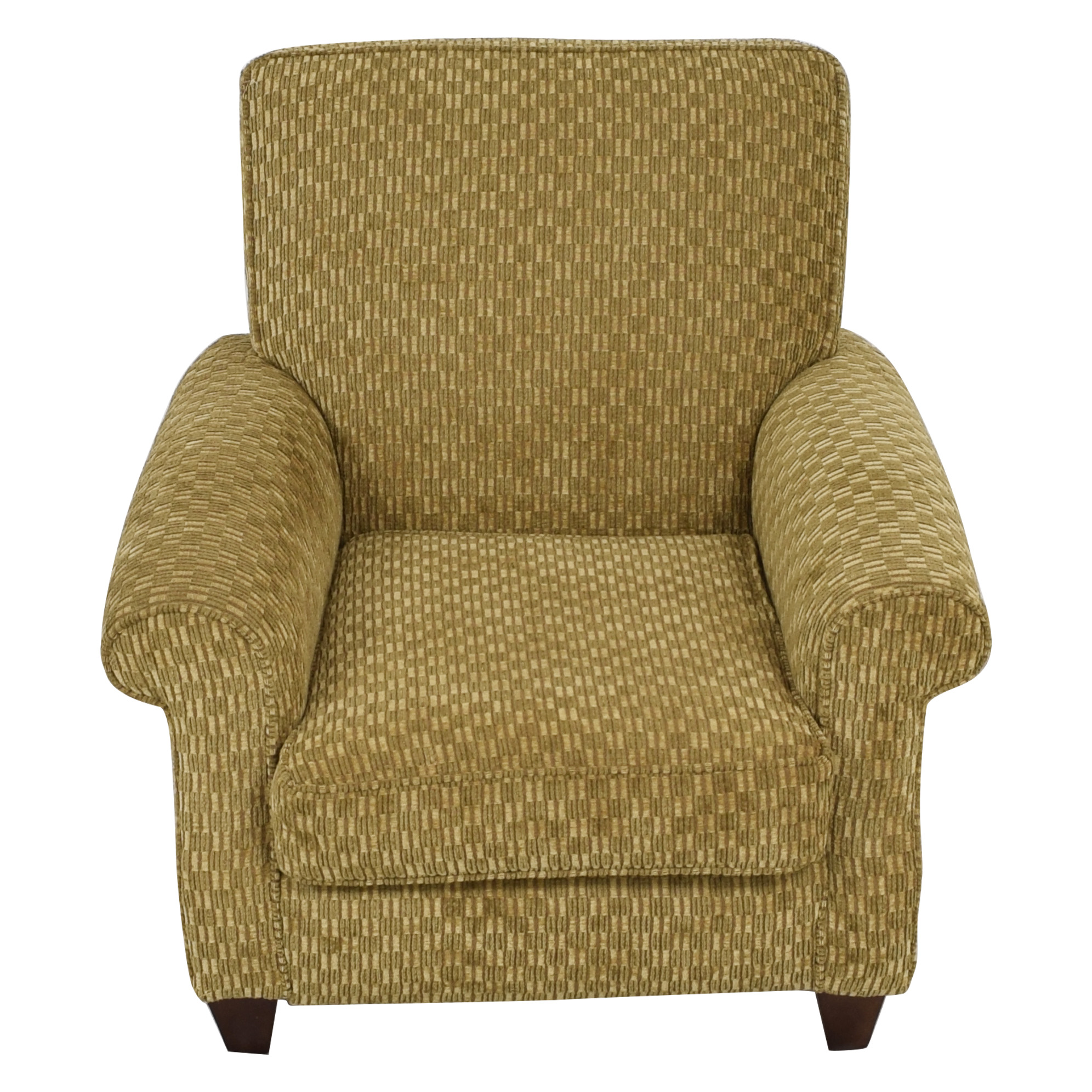 shop Alan White Casual Stationary Accent Chair Alan White