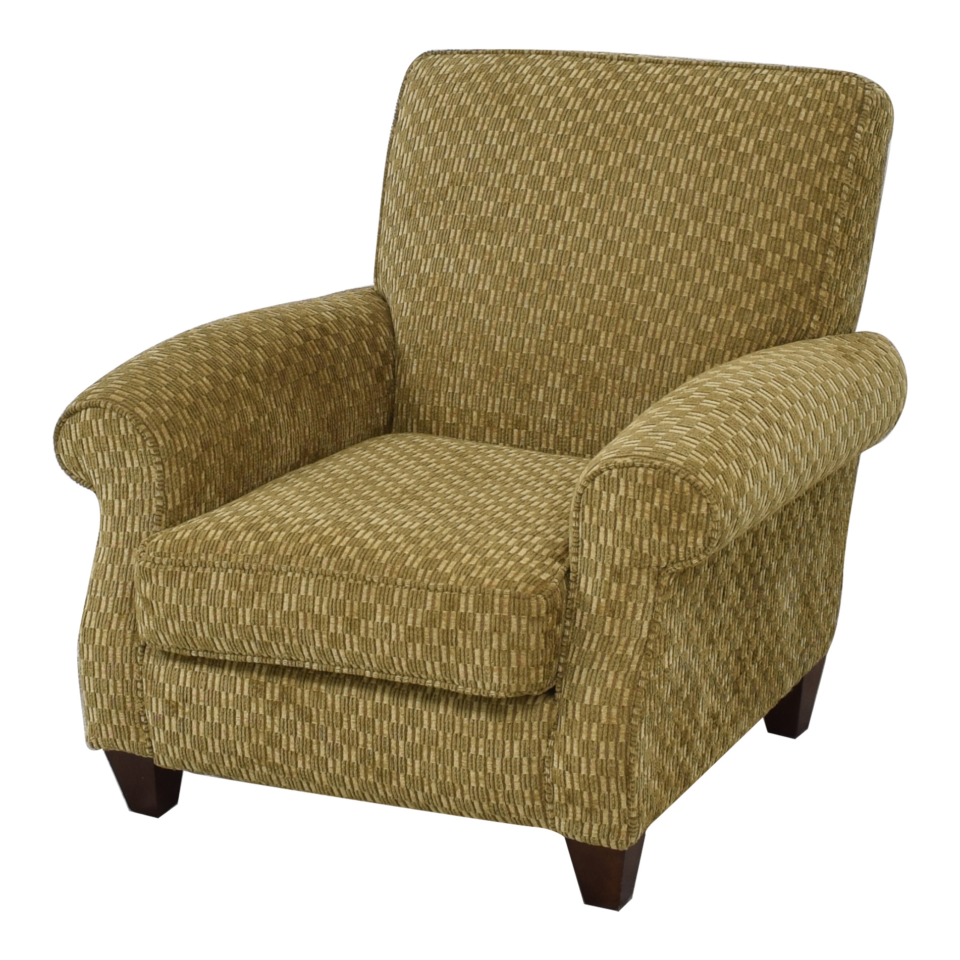 buy Alan White Casual Stationary Accent Chair Alan White Accent Chairs