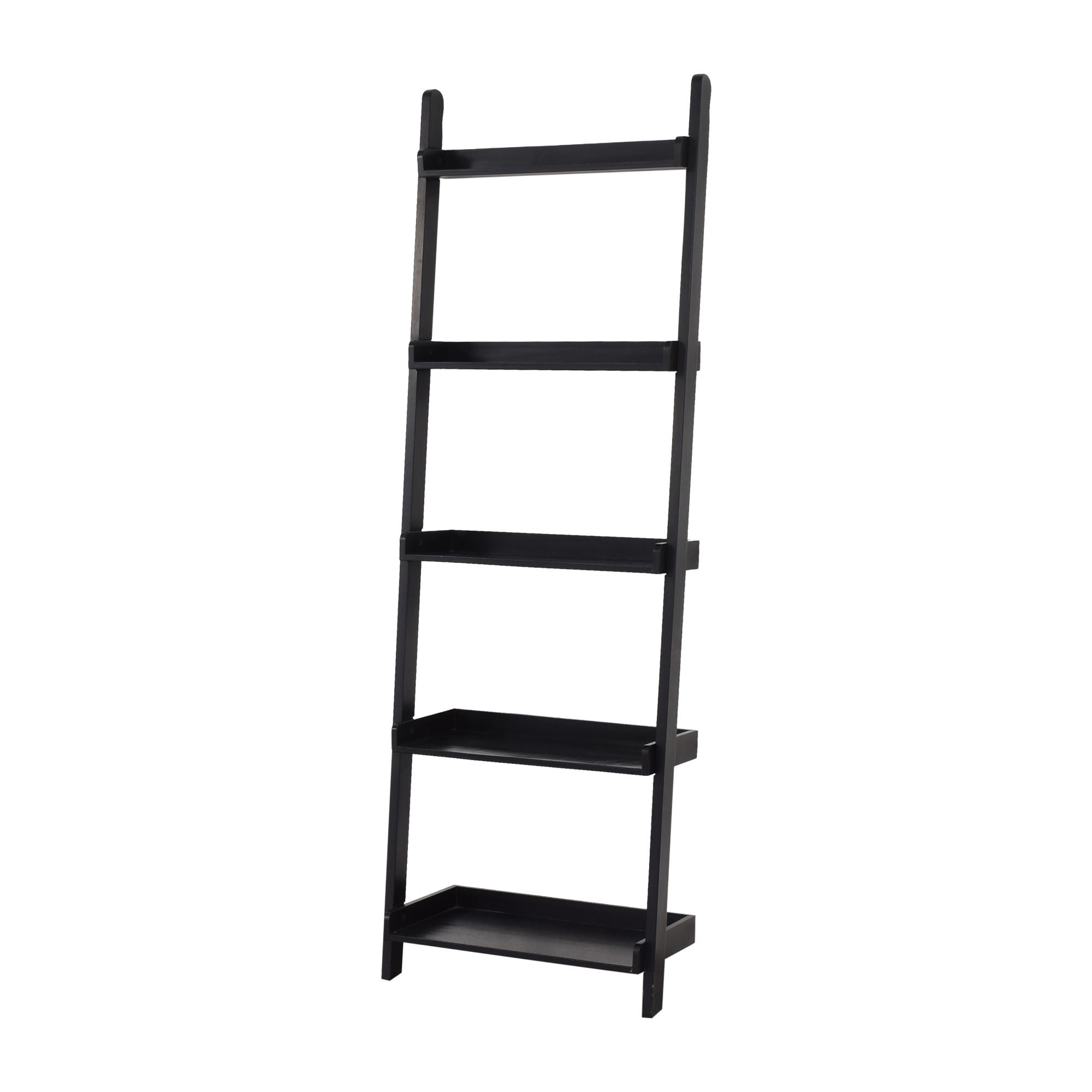 Crate & Barrel Ladder Bookcase sale