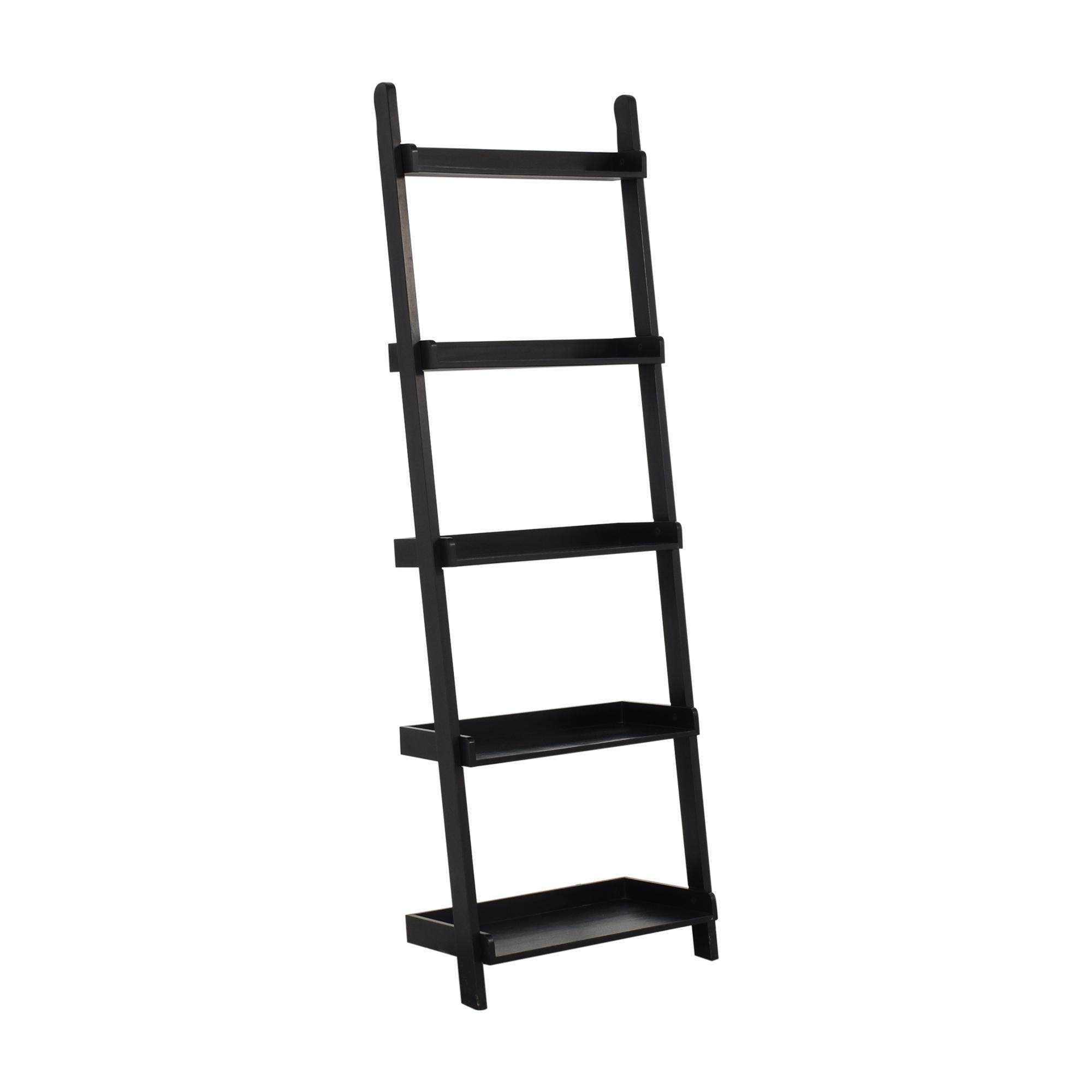shop Crate & Barrel Ladder Bookcase Crate & Barrel