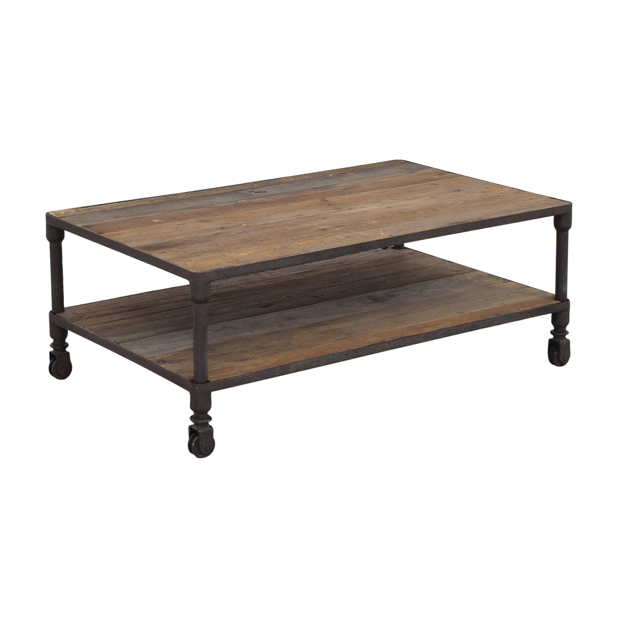 buy Restoration Hardware Dutch Industrial Coffee Table Restoration Hardware Tables