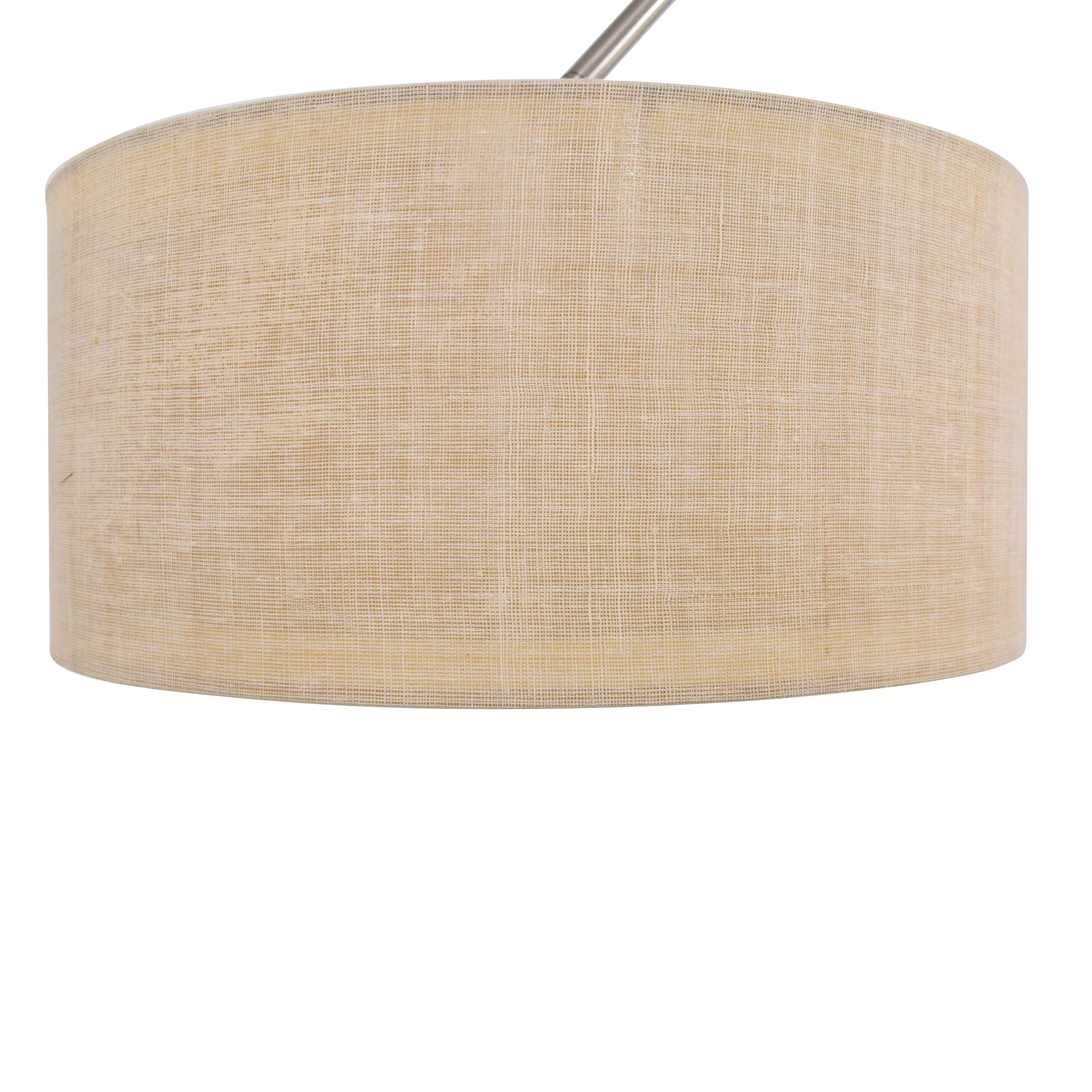 CB2 CB2 Big Dipper Arc Floor Lamp silver & beige