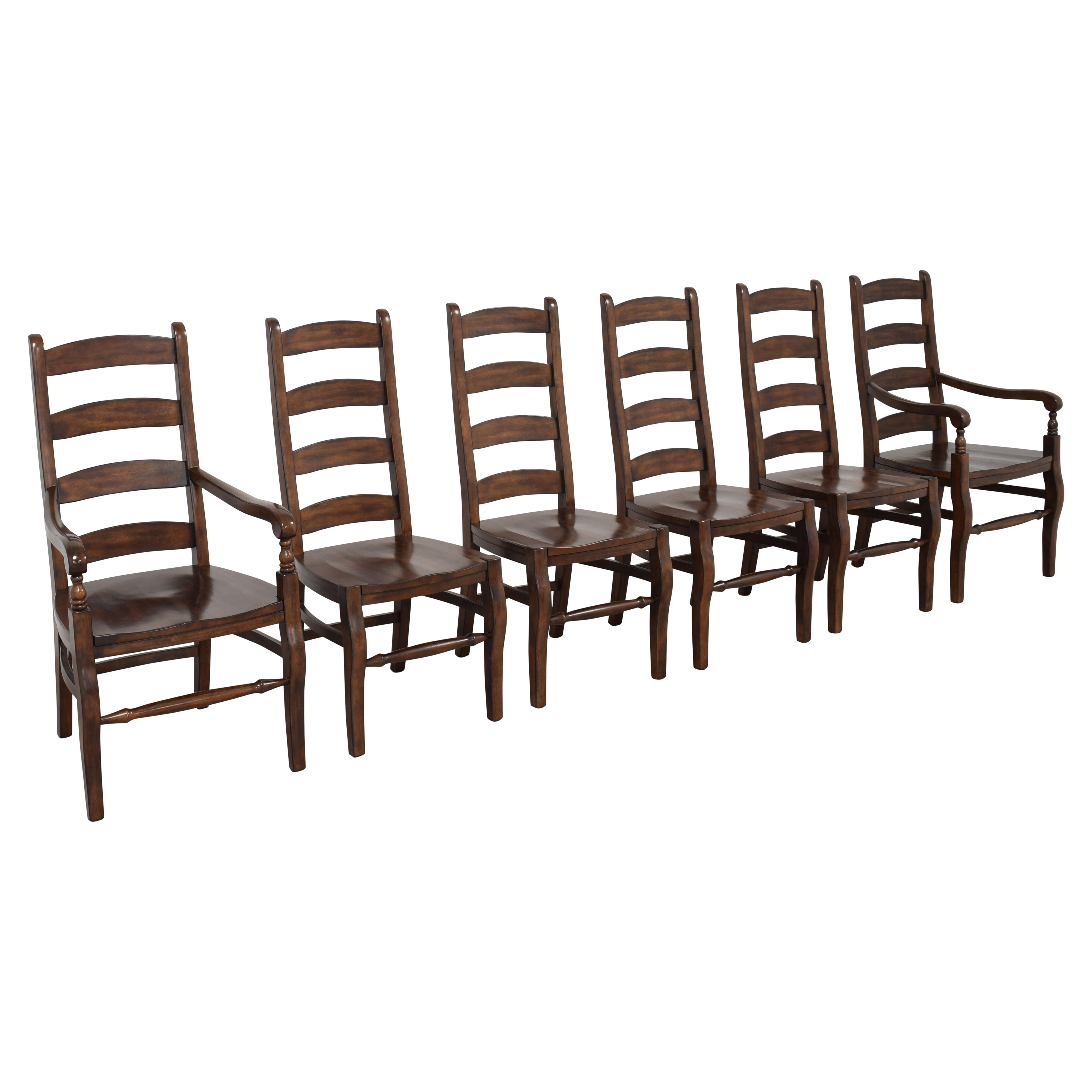 Pottery Barn Pottery Barn Wynn Ladderback Dining Chairs on sale