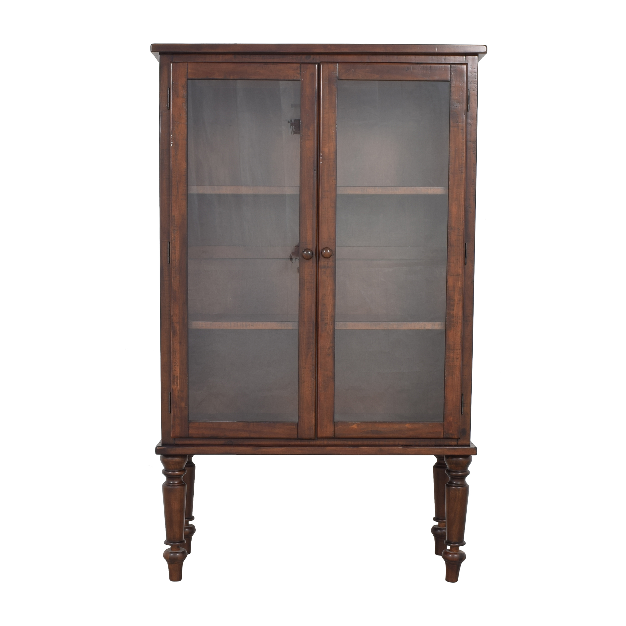 buy Pottery Barn Sumner Glass Cabinet Pottery Barn Storage