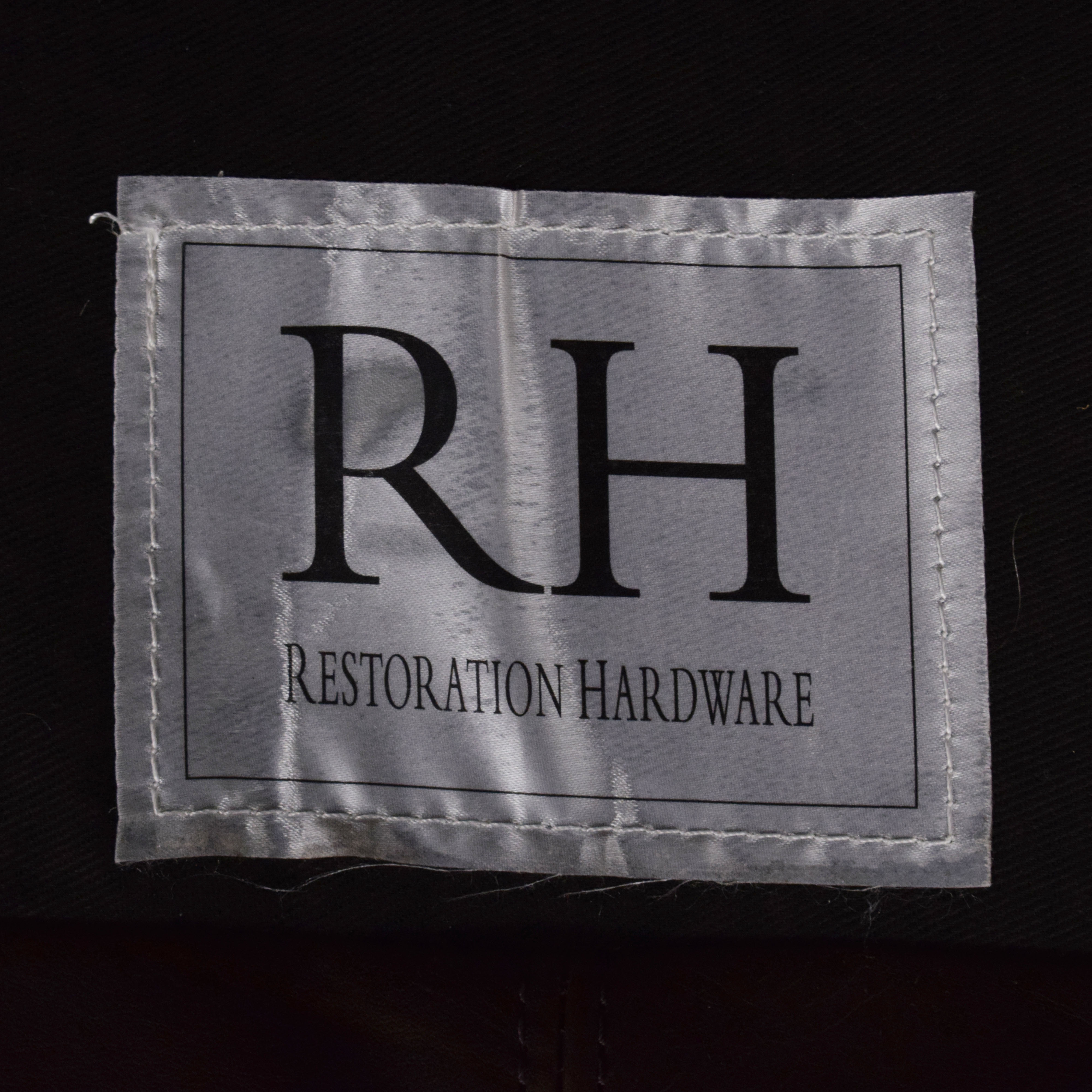 Restoration Hardware Restoration Hardware Maxwell Leather Sofa nj