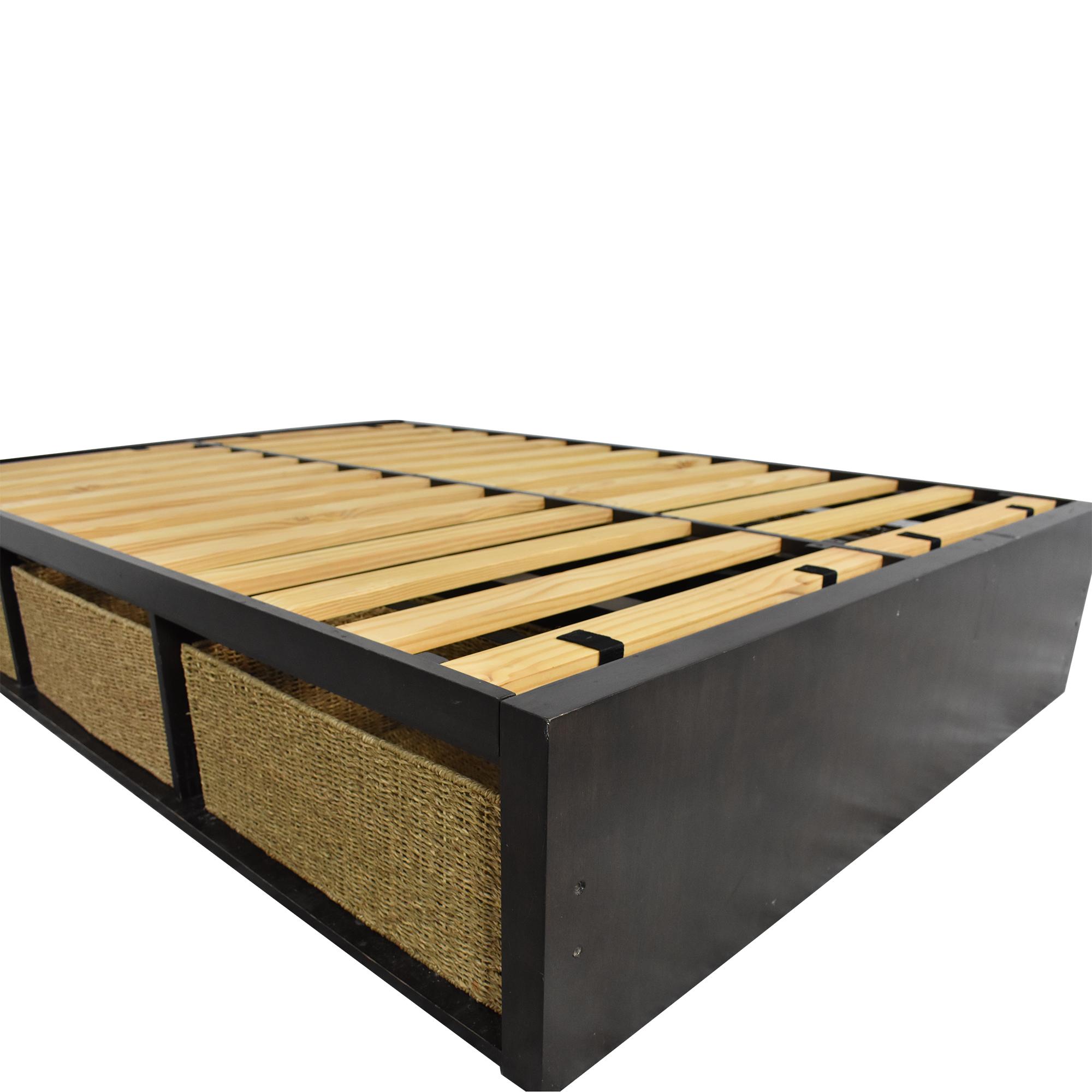 West Elm West Elm Sylvan Full Storage Bed second hand