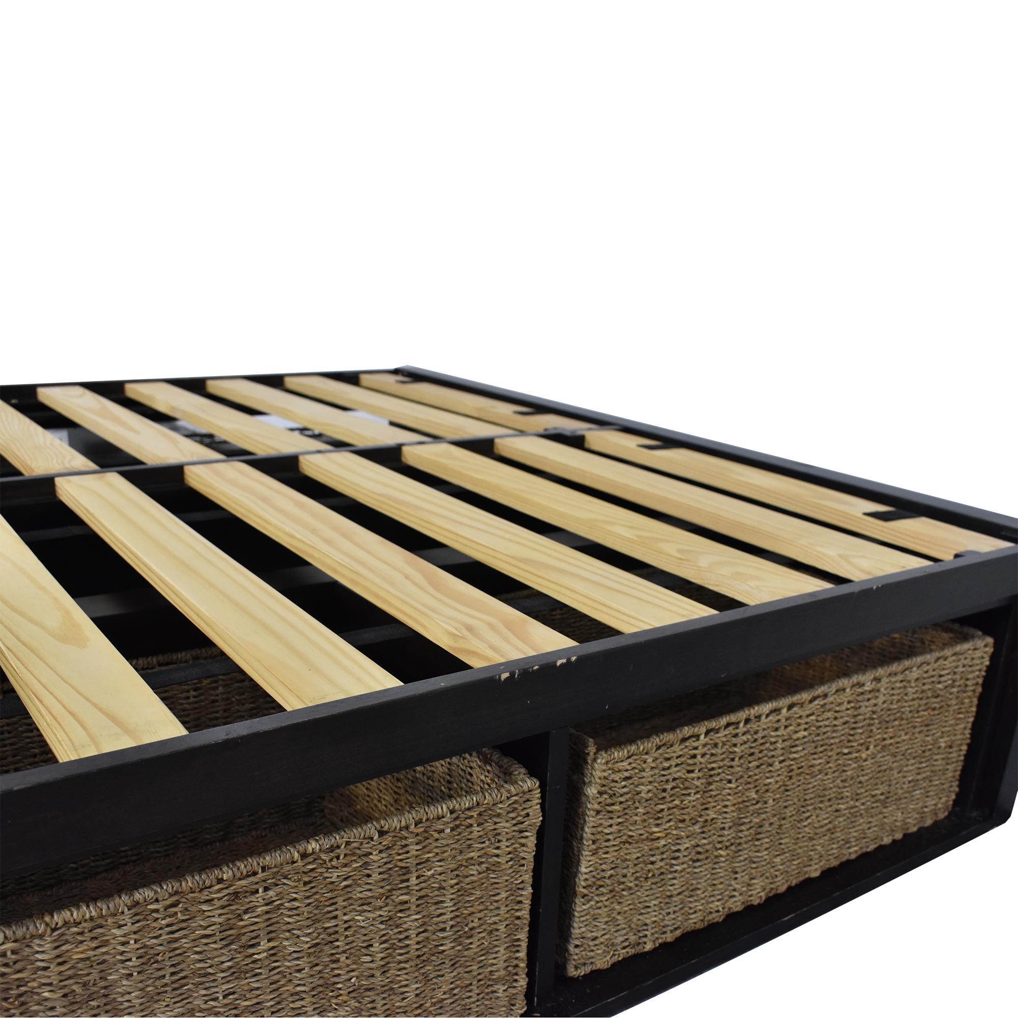 West Elm West Elm Sylvan Full Storage Bed nyc
