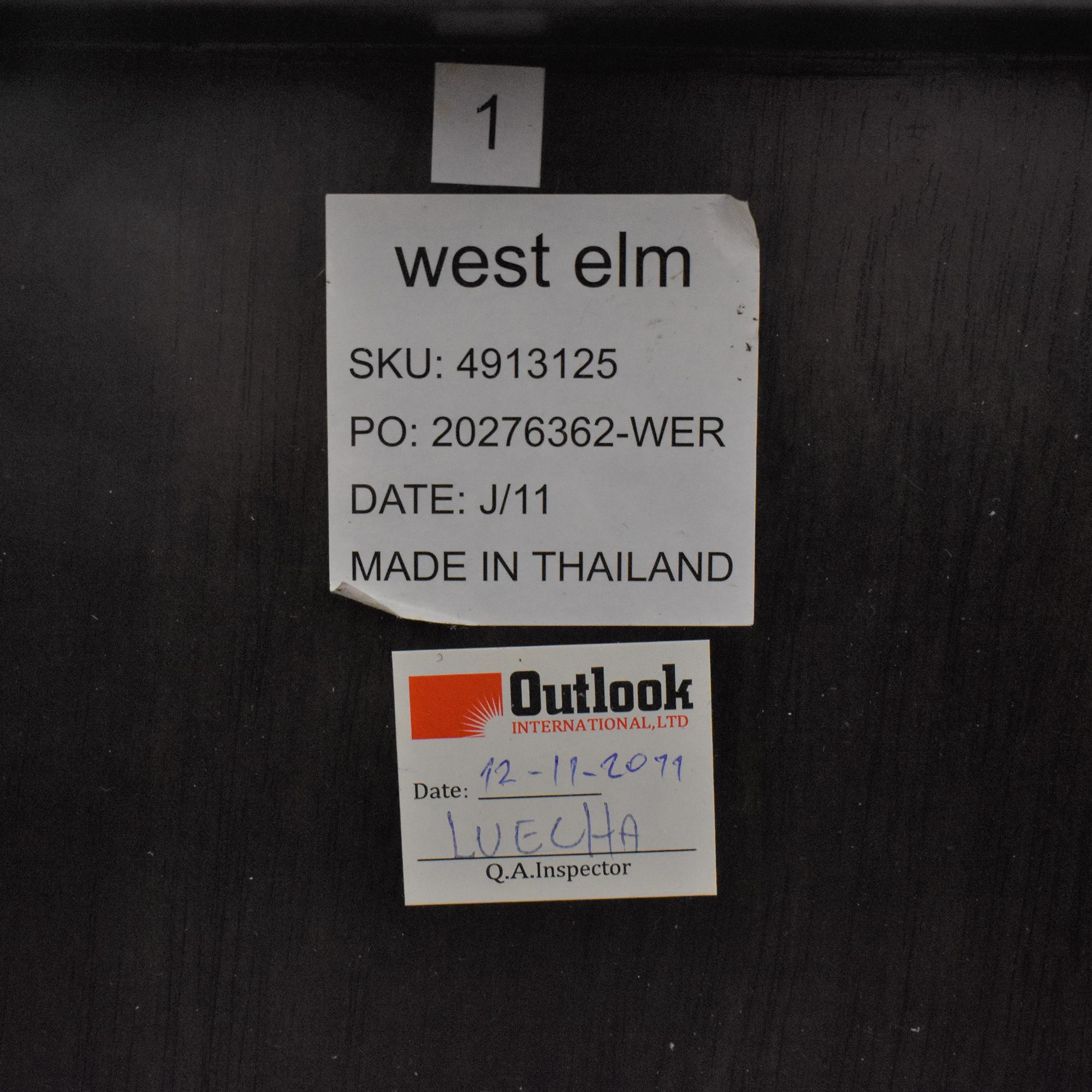 buy West Elm West Elm Sylvan Full Storage Bed online