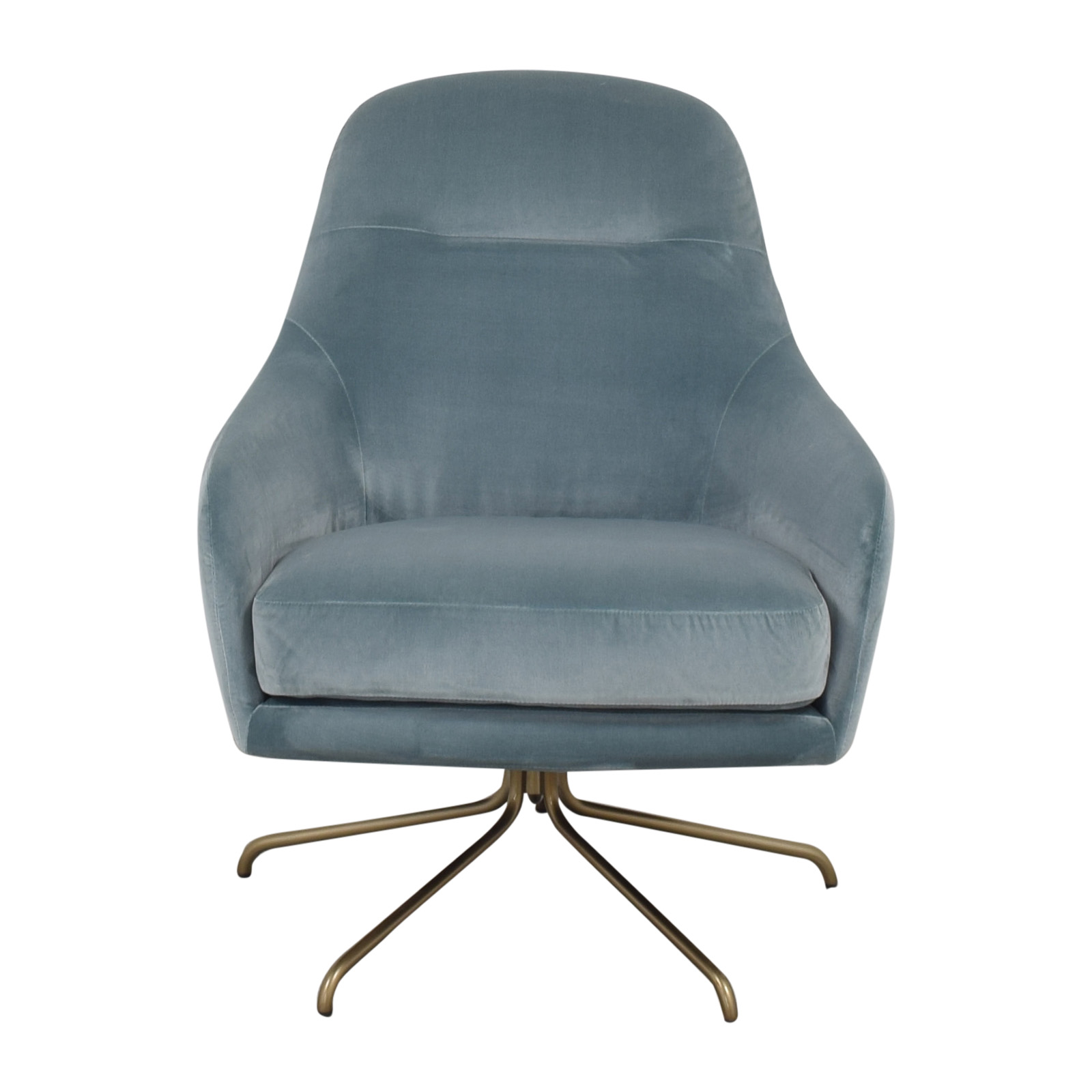 West Elm West Elm Valentina Swivel Chair Chairs