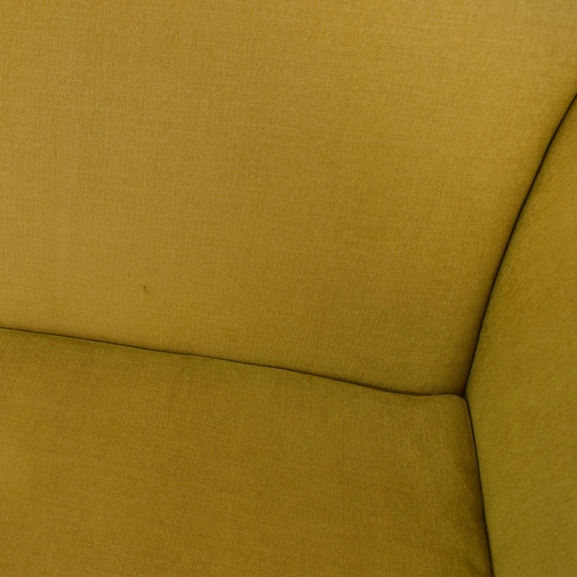 Crate & Barrel Silhouette Sofa sale