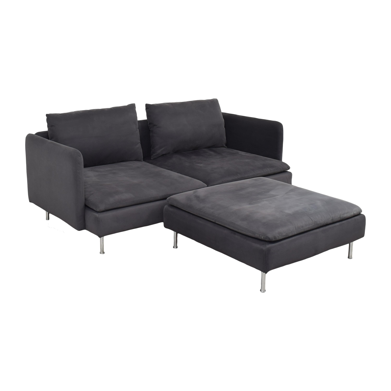 IKEA IKEA SÖDERHAMN Sofa with Ottoman Sofas