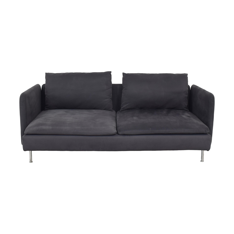 IKEA IKEA SÖDERHAMN Sofa with Ottoman on sale
