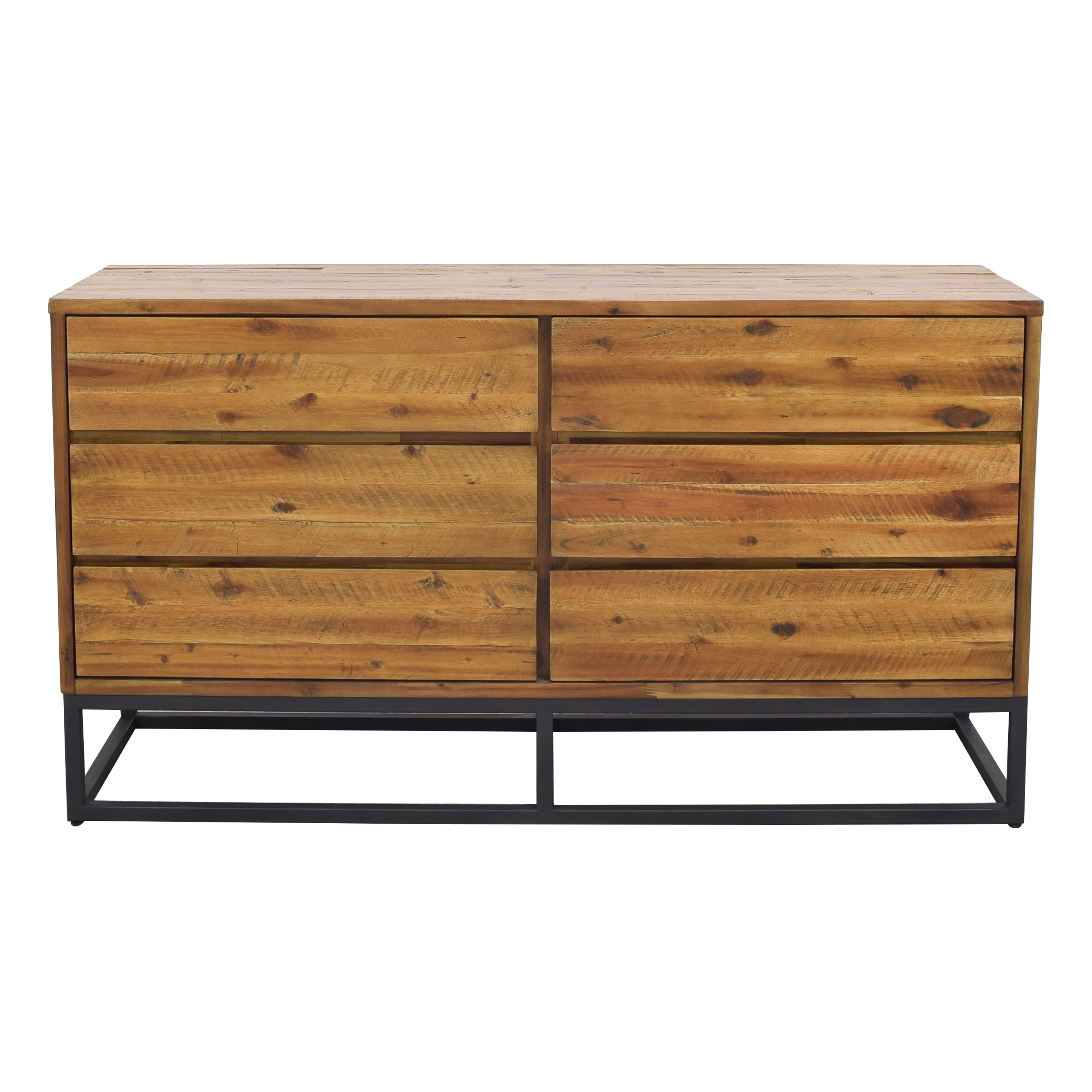 shop West Elm Logan Industrial 6-Drawer Dresser West Elm Dressers
