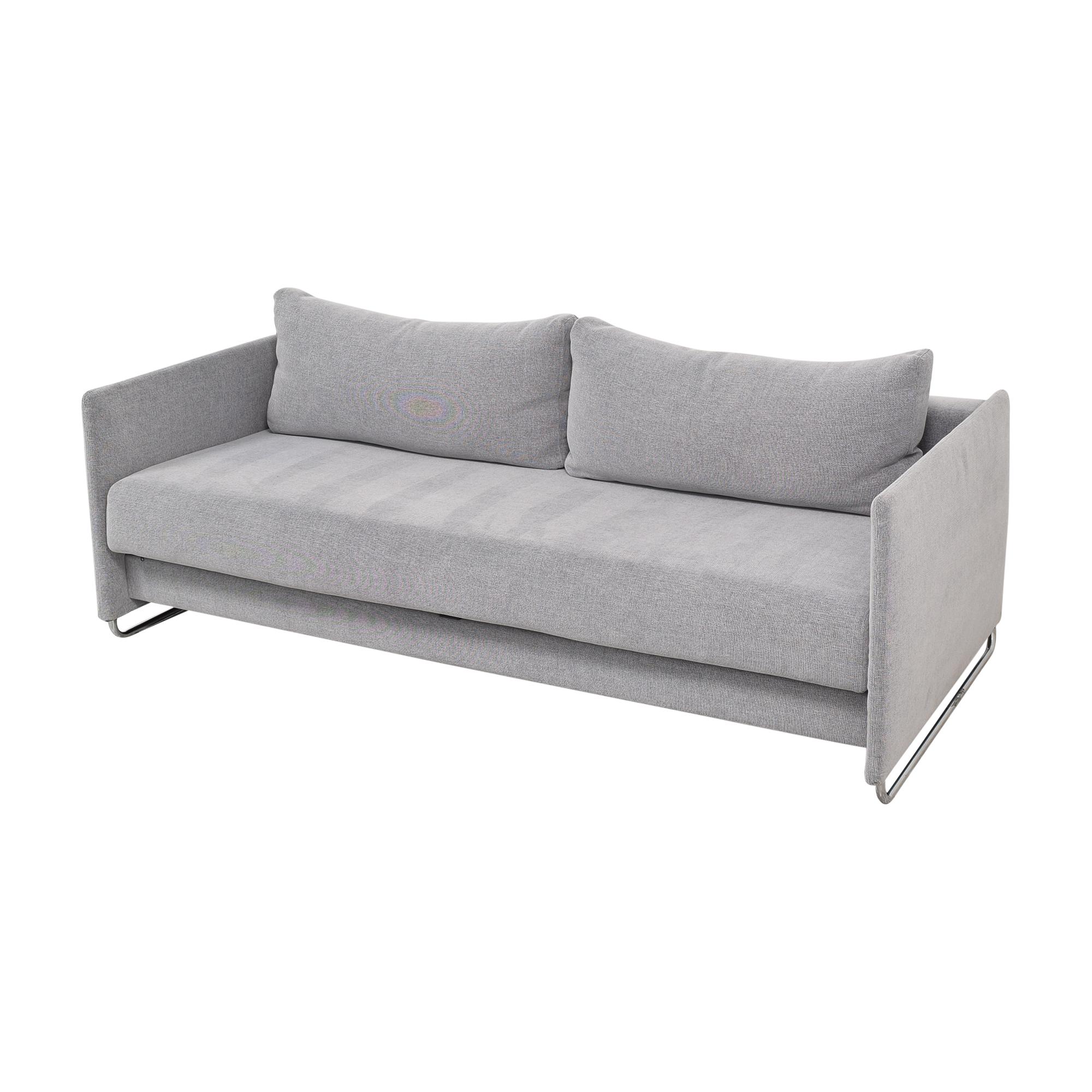 CB2 CB2 Tandom Microgrid Sleeper Sofa coupon