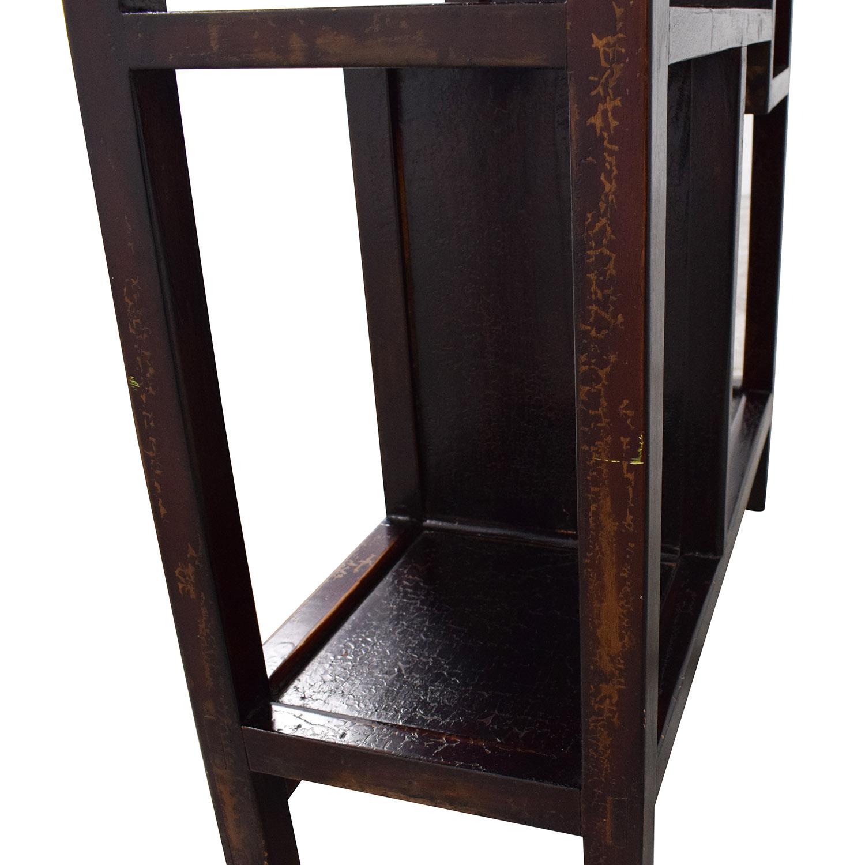 Chinese Wooden Shelf ct