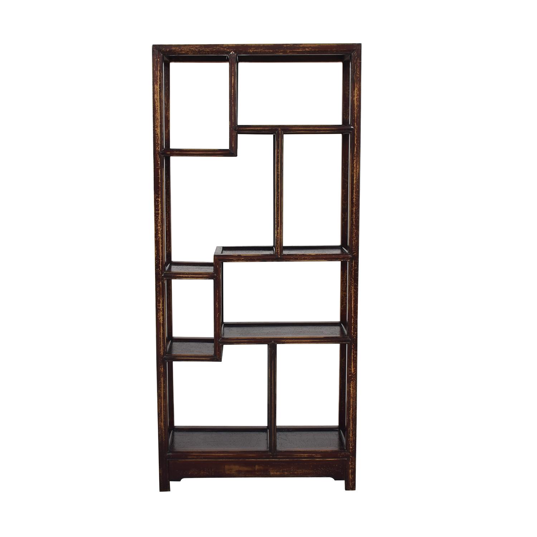Chinese Wooden Shelf