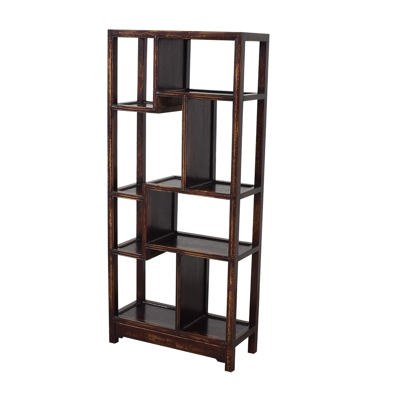 Chinese Wooden Shelf pa