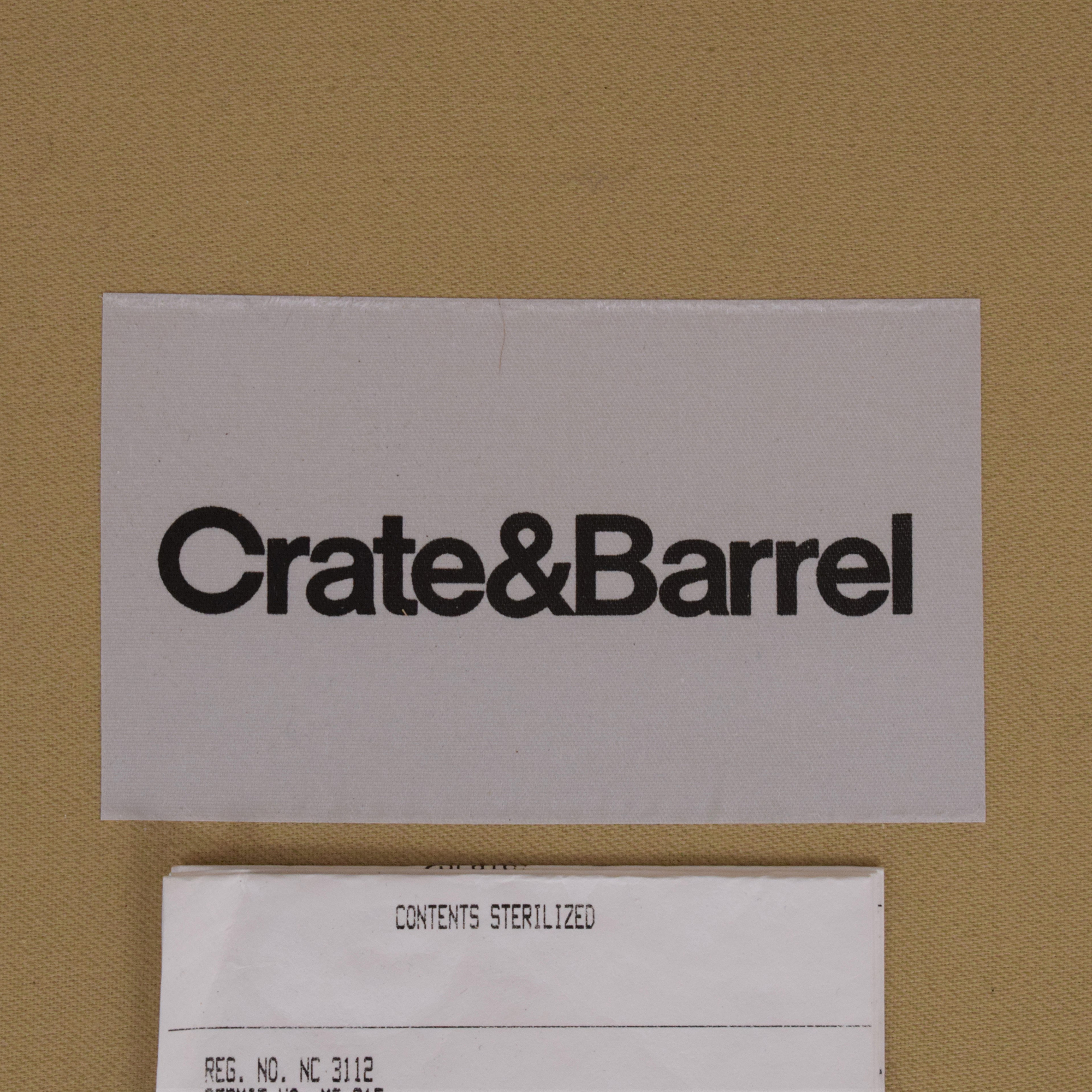Crate & Barrel Crate & Barrel Essex Sofa with Ottoman used