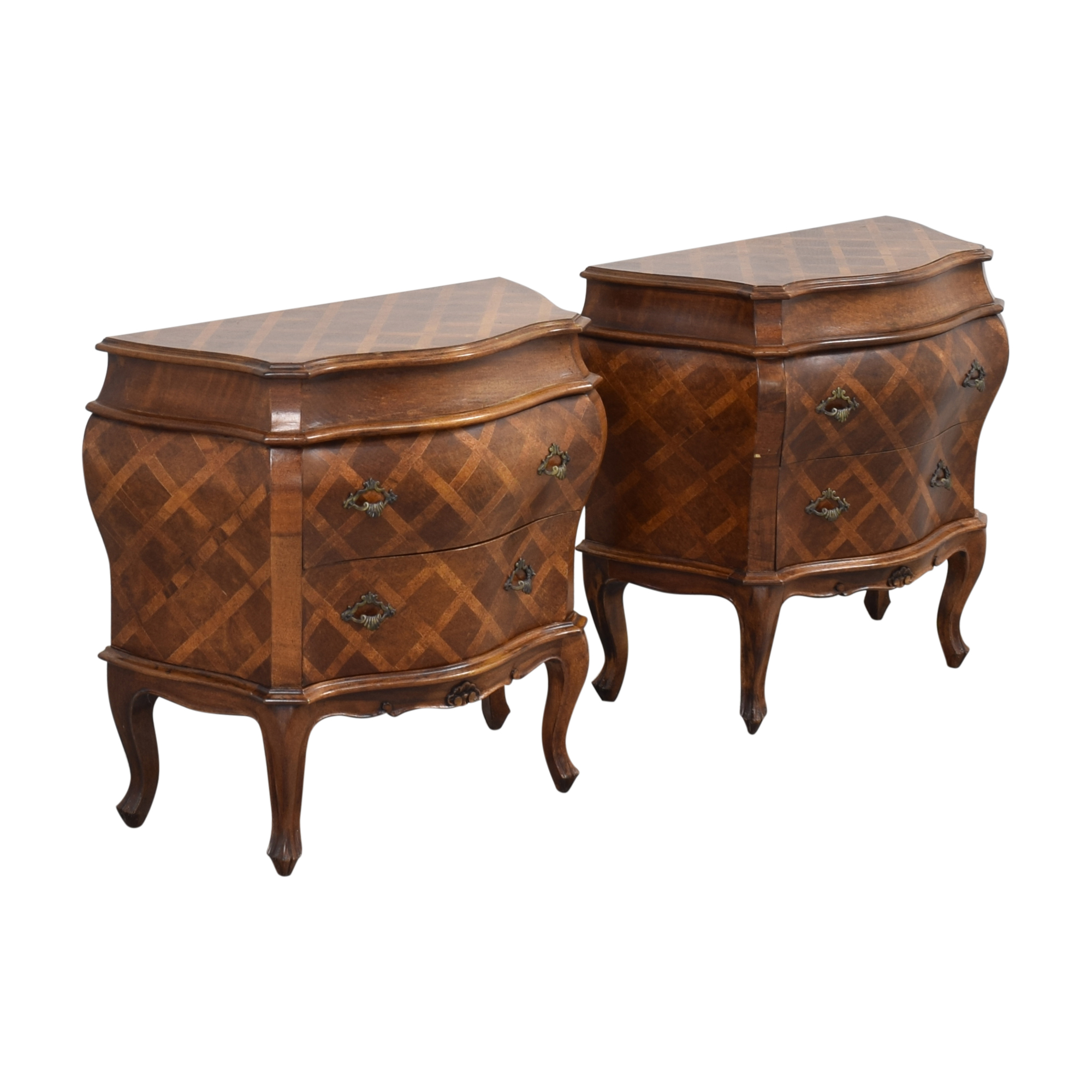 shop French Style Bombe Shaped End Tables  End Tables