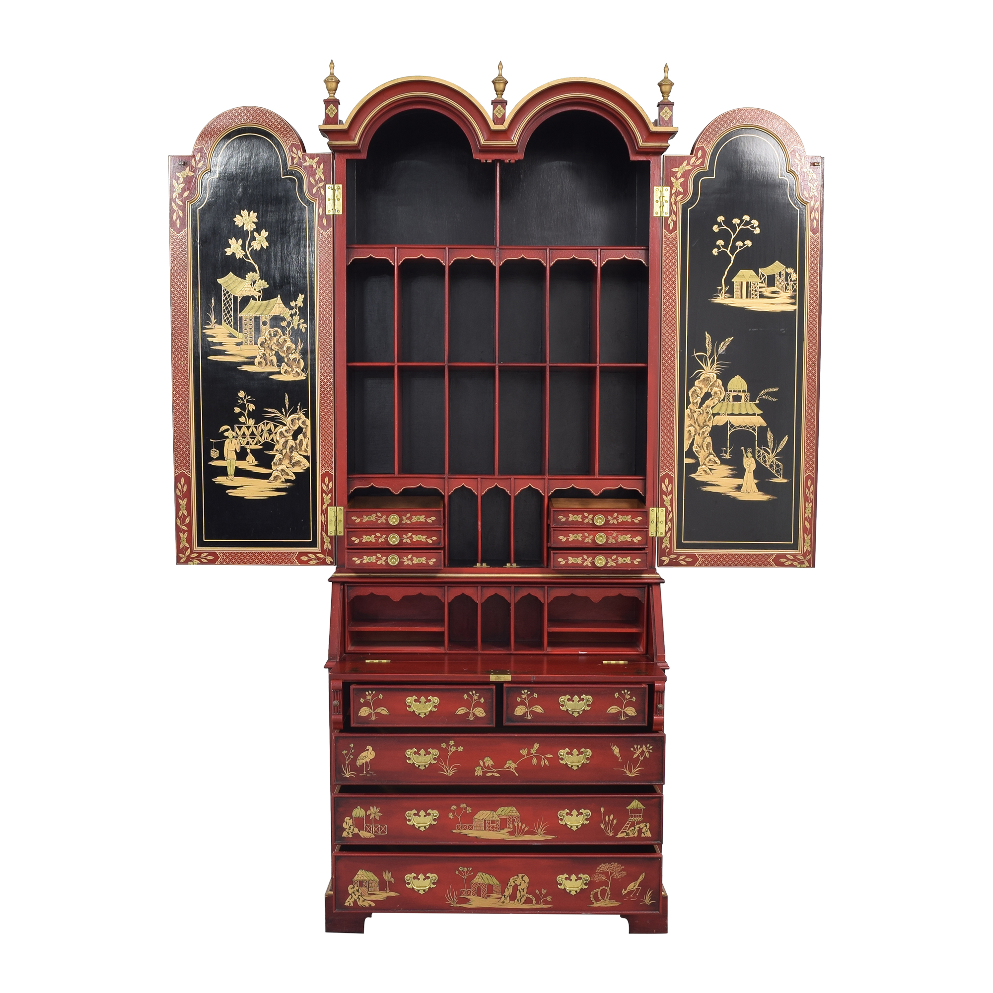 shop French Chinoiserie Secretaire Desk  Wardrobes & Armoires