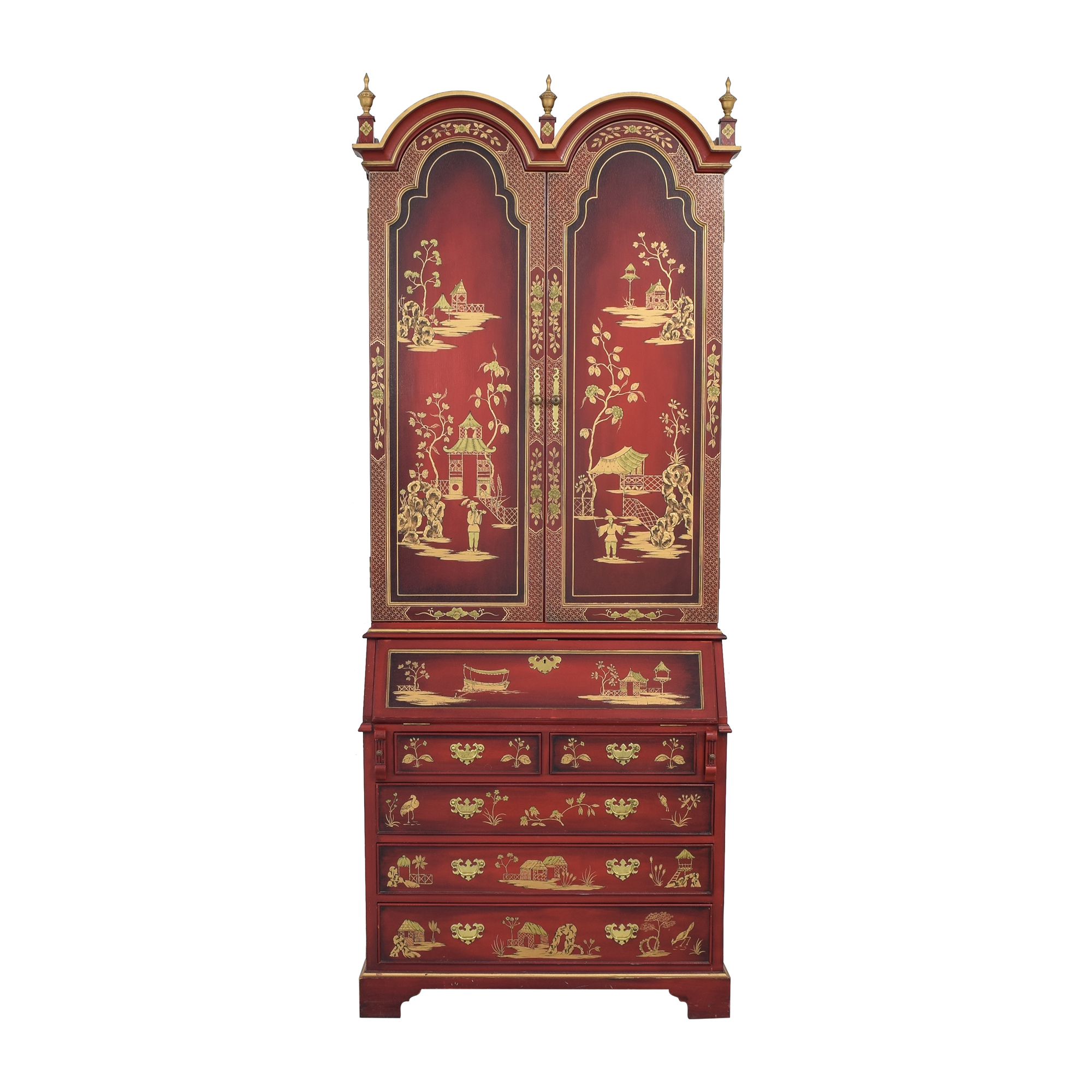 shop French Chinoiserie Secretaire Desk