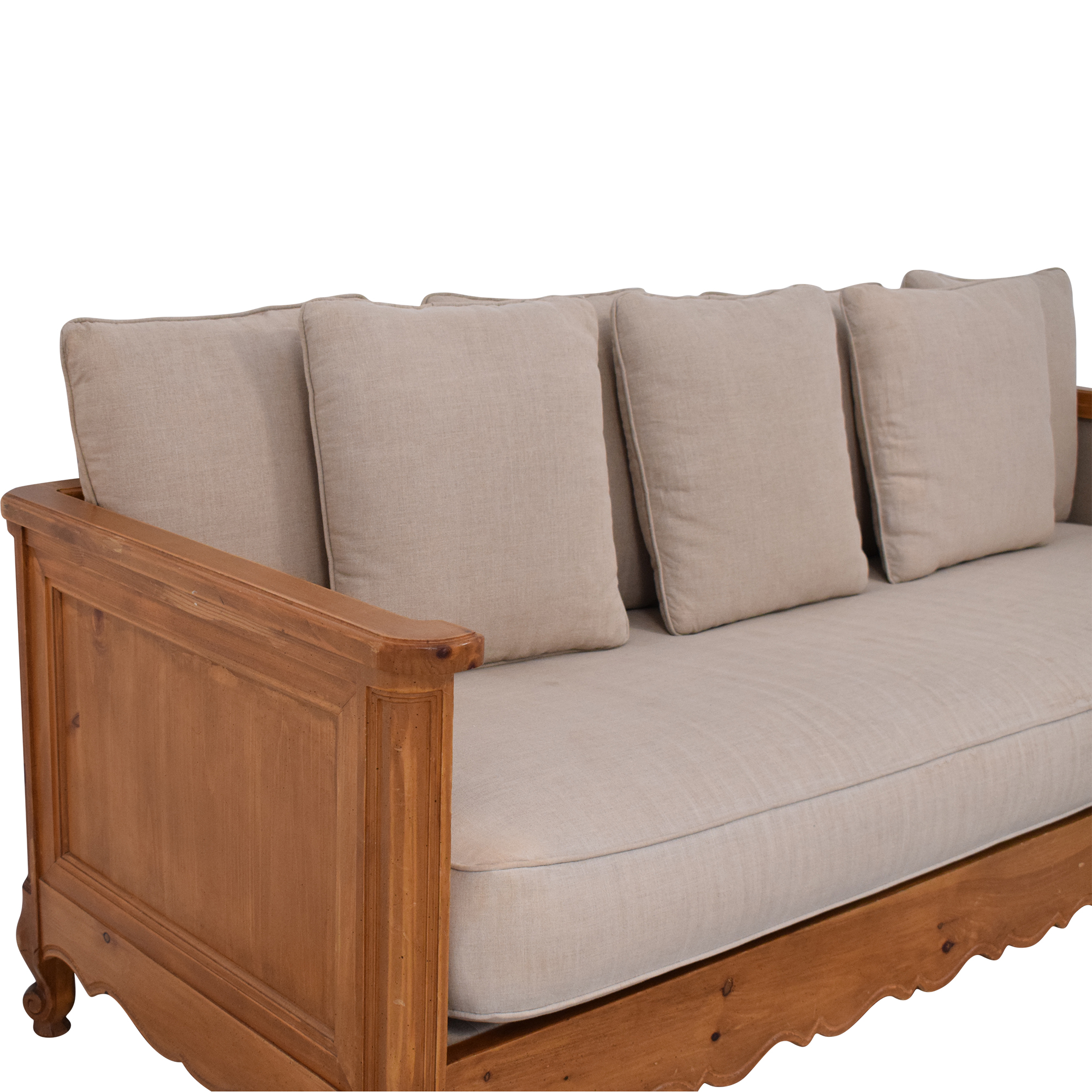 shop Wood Frame Sofa  Classic Sofas