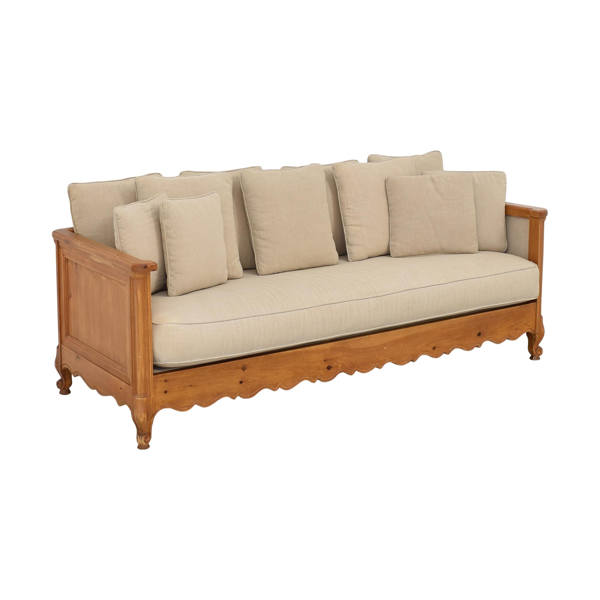 shop  Wood Frame Sofa online