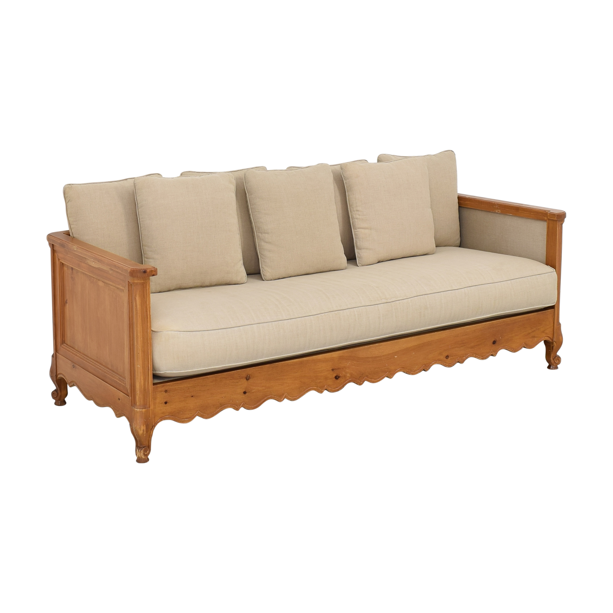 Wood Frame Sofa nj