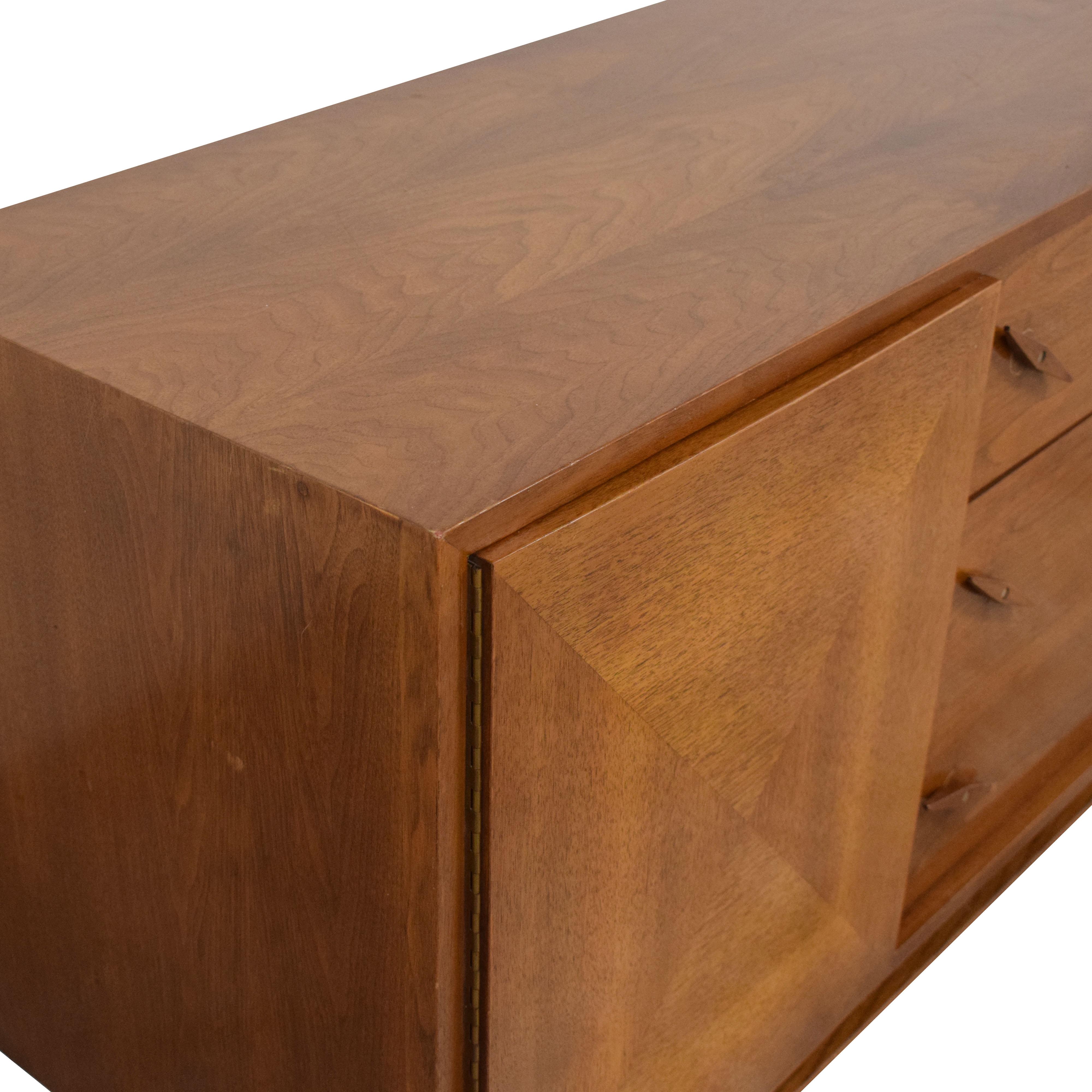American of Martinsville American of Martinsville Mid Century Credenza Dresser