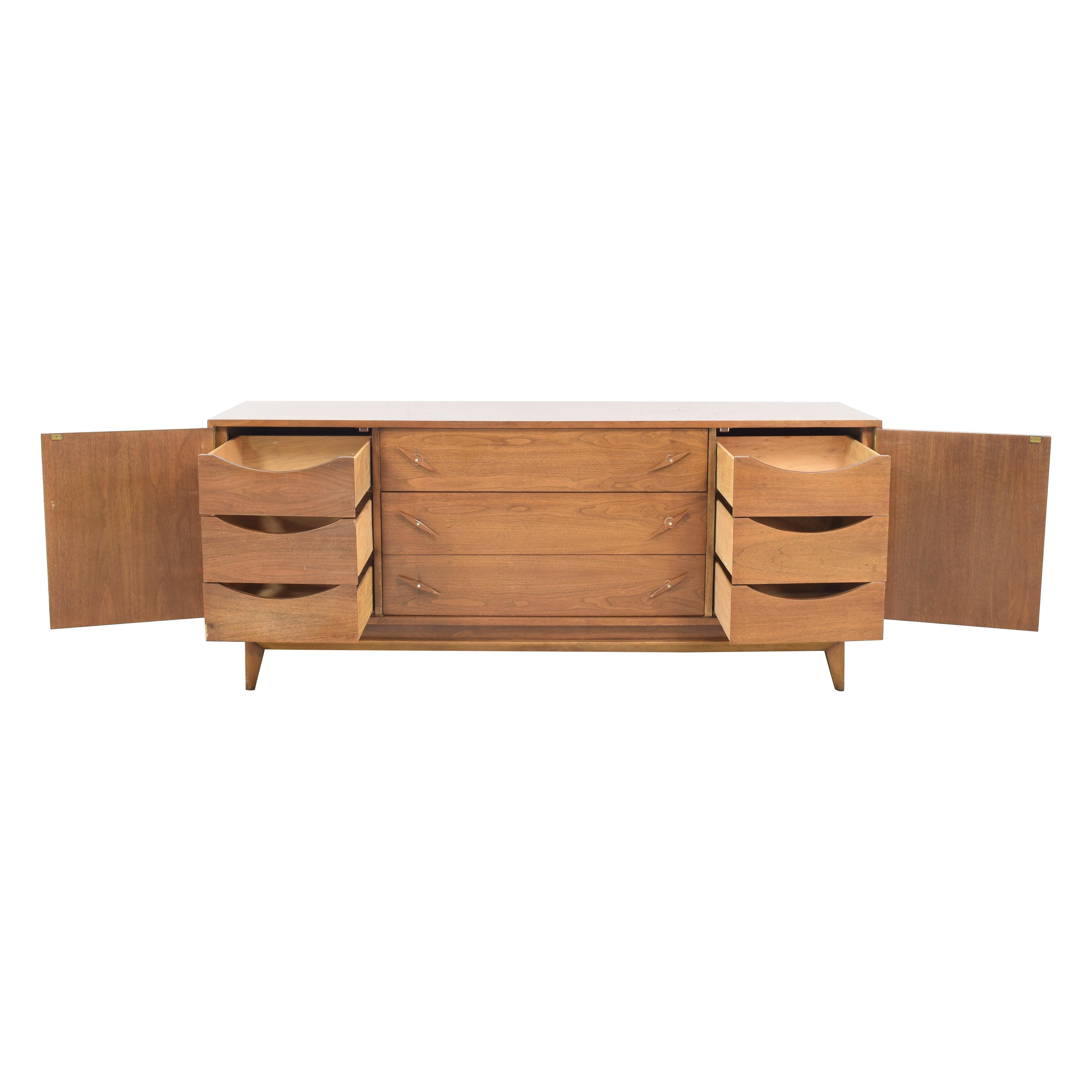 shop American of Martinsville Mid Century Credenza Dresser American of Martinsville Storage