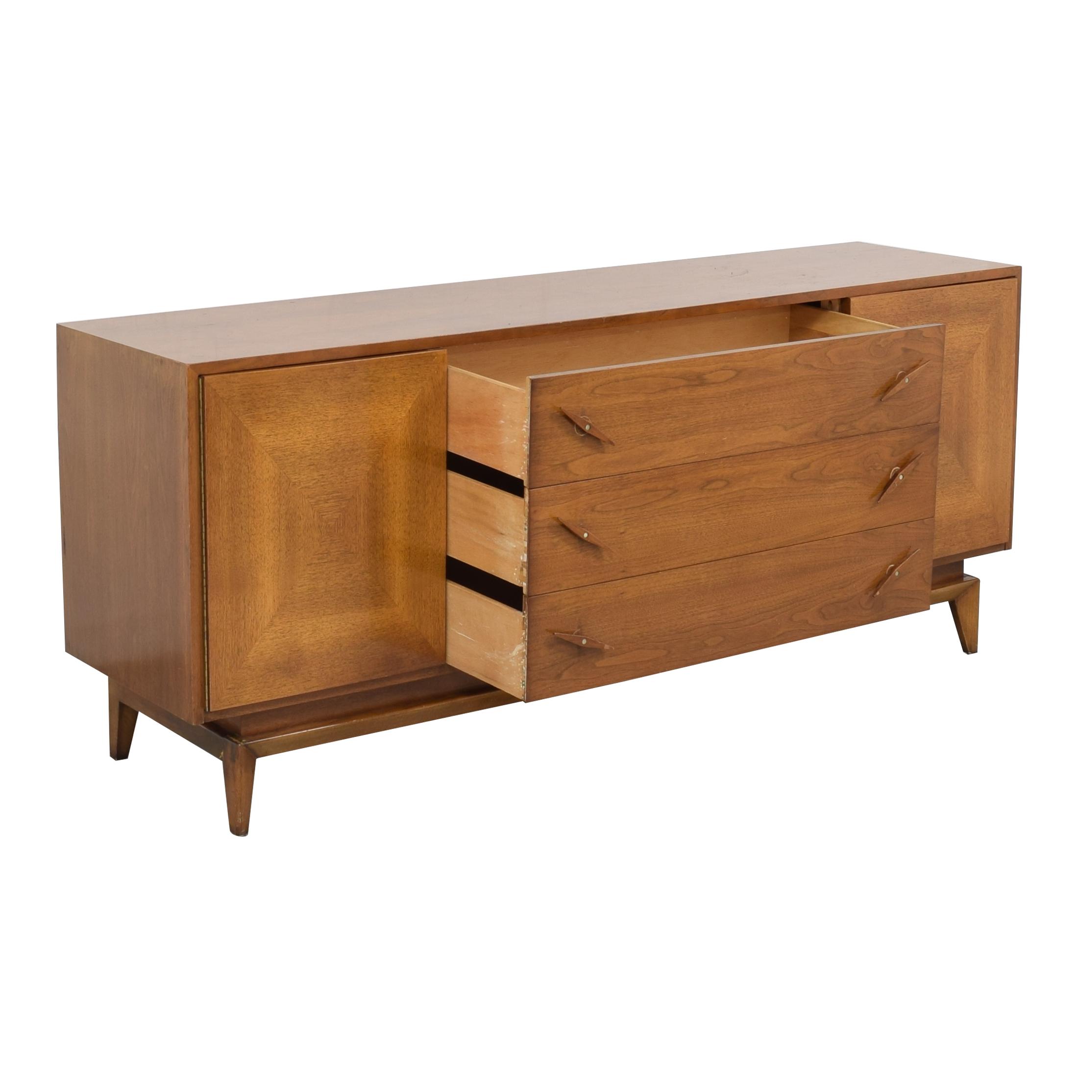 American of Martinsville Mid Century Credenza Dresser sale