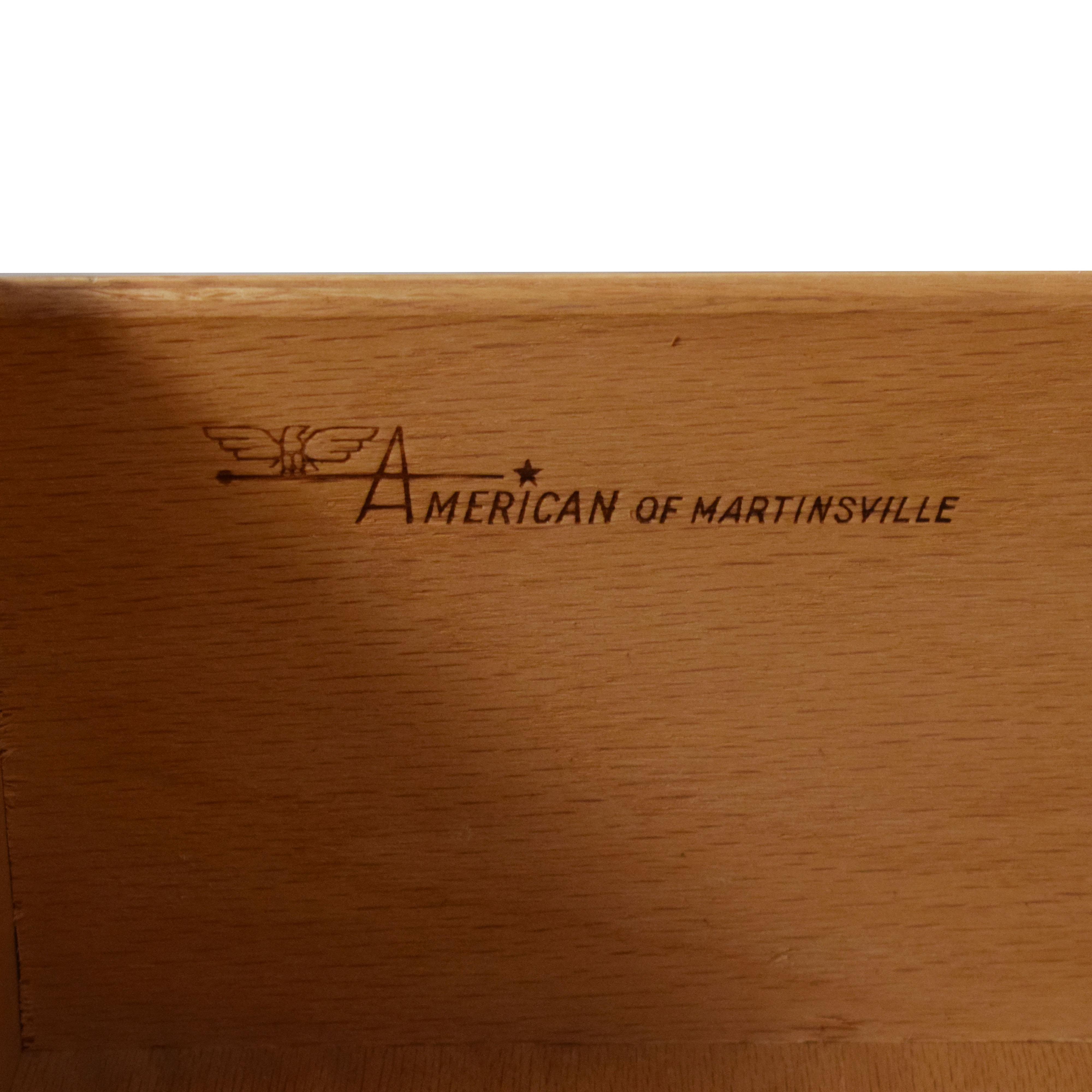American of Martinsville Mid Century Credenza Dresser / Storage