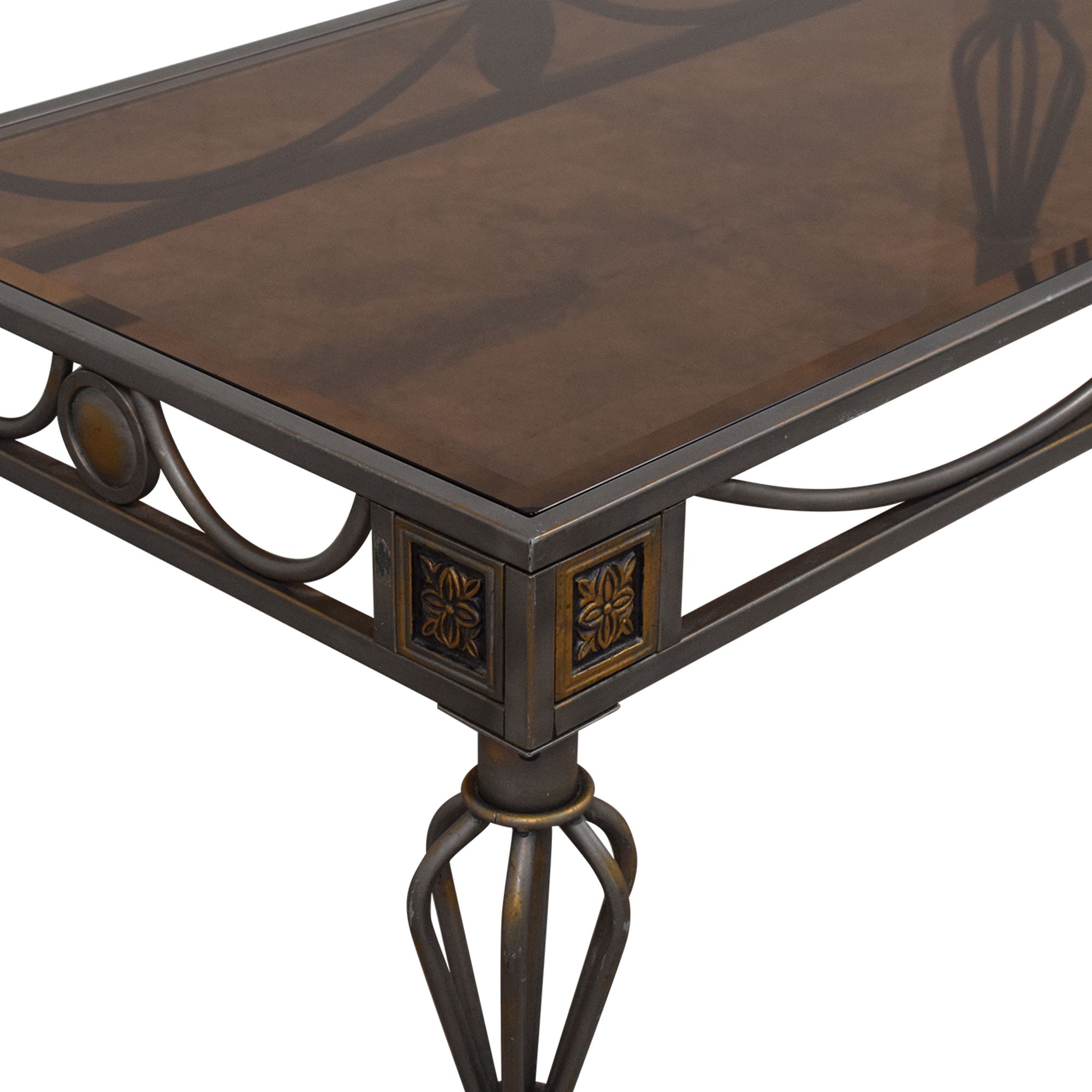 Metal and Glass Coffee Table / Coffee Tables