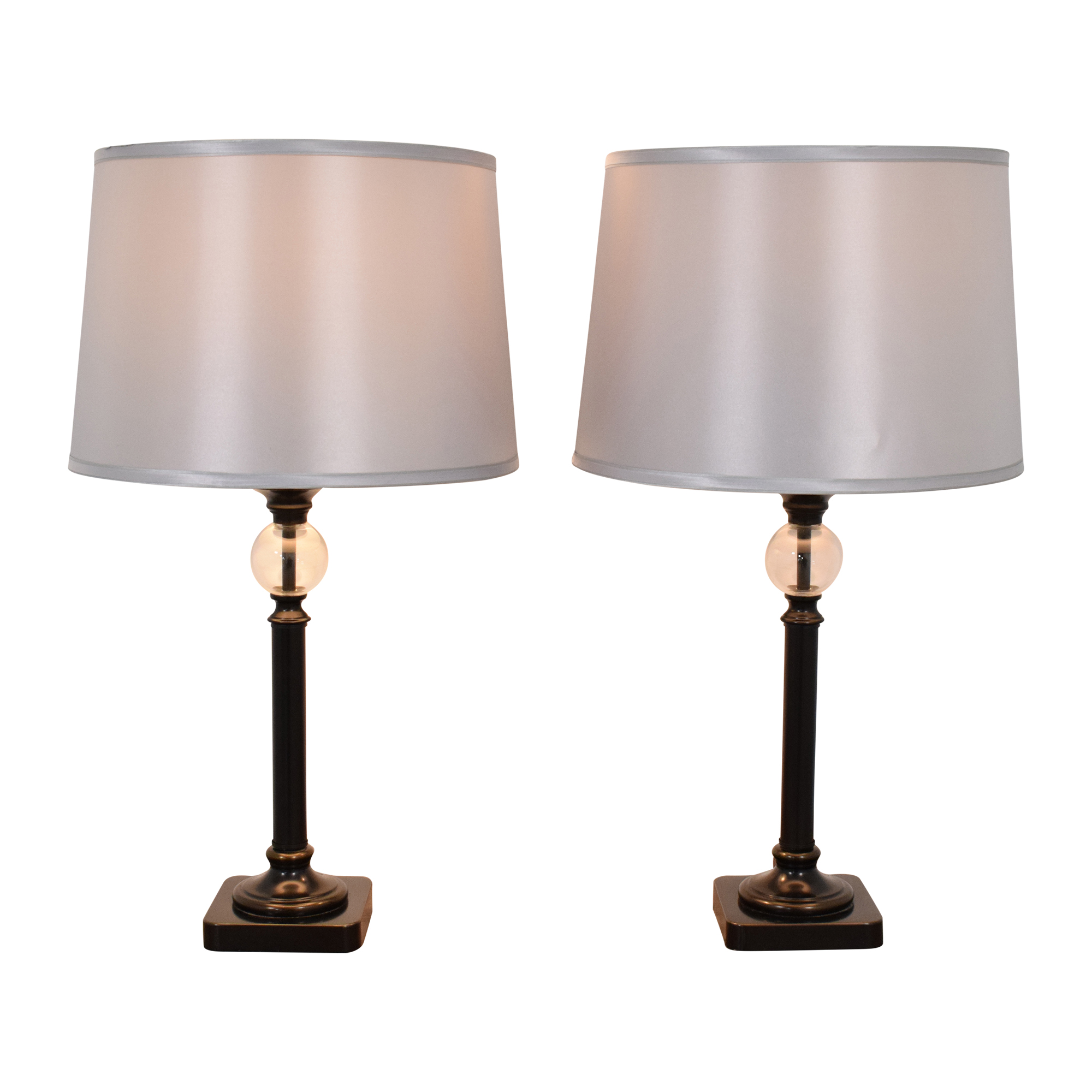 shop Pottery Barn Antique Bronze Table Lamps Pottery Barn